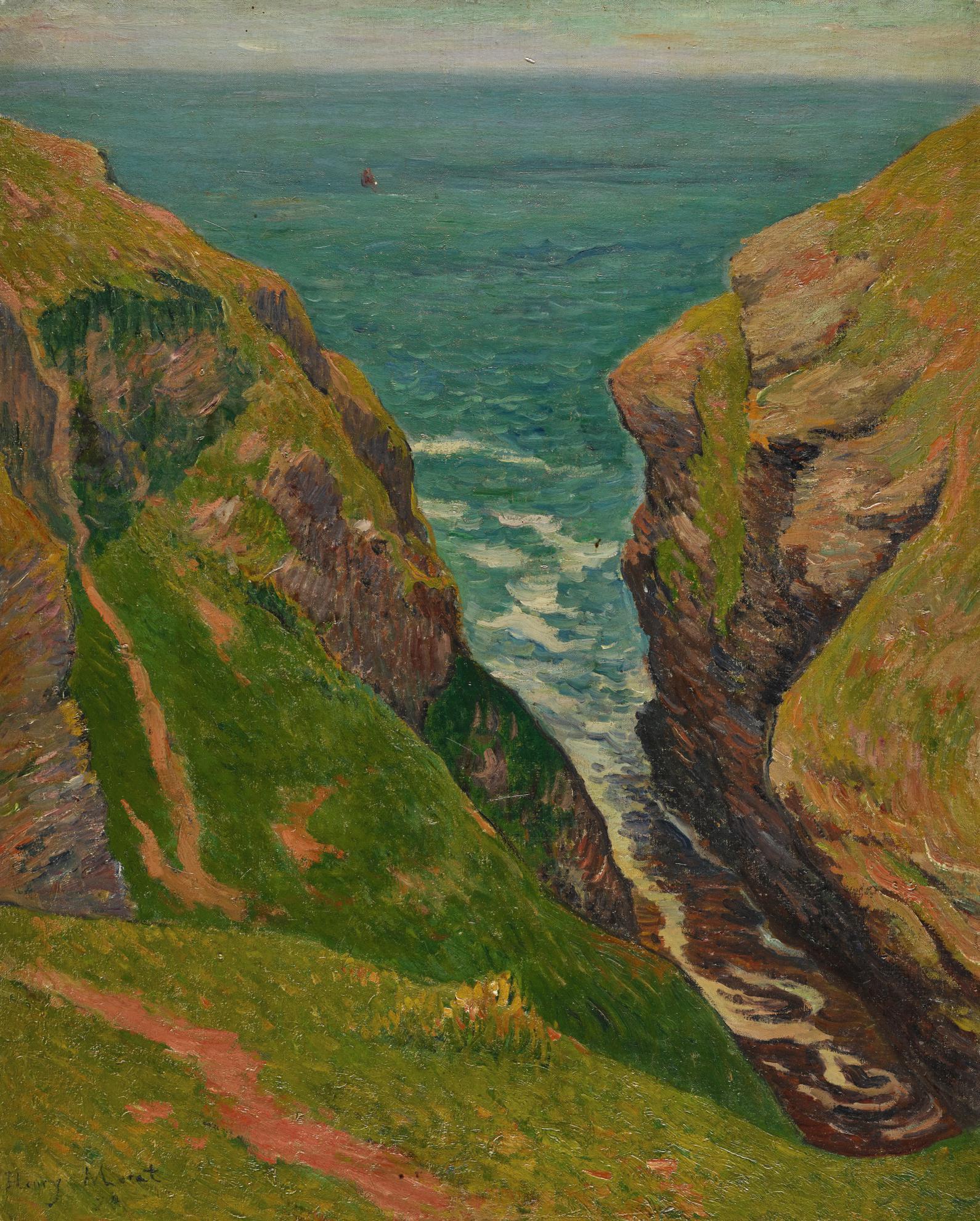Henry Moret-La Breche-1894