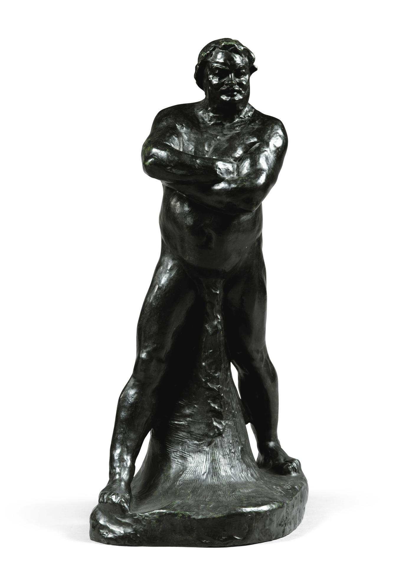 Auguste Rodin-Balzac, Etude Type C, Petit Modele-1893