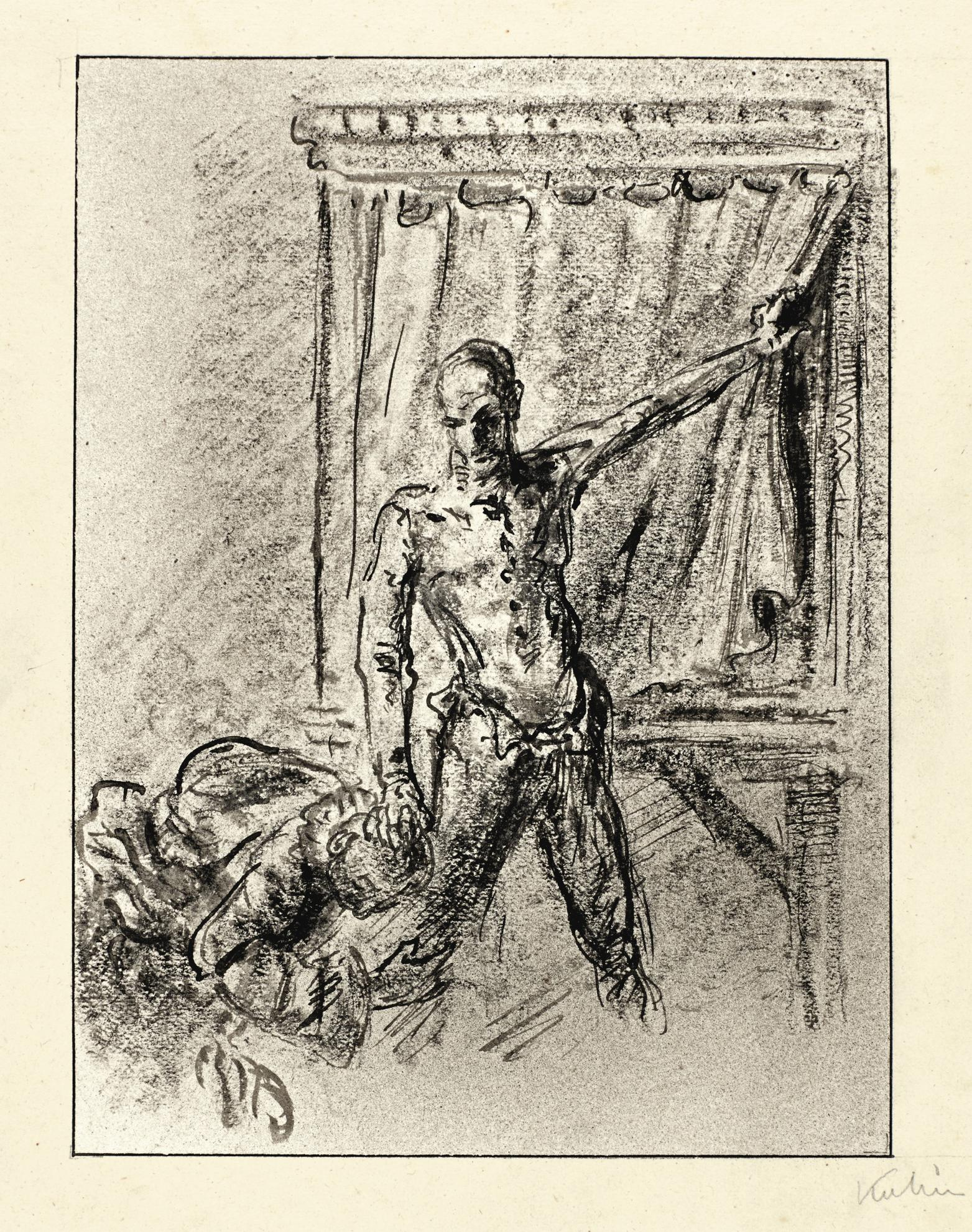 Alfred Kubin-Knechtung (Enslavement)-1911