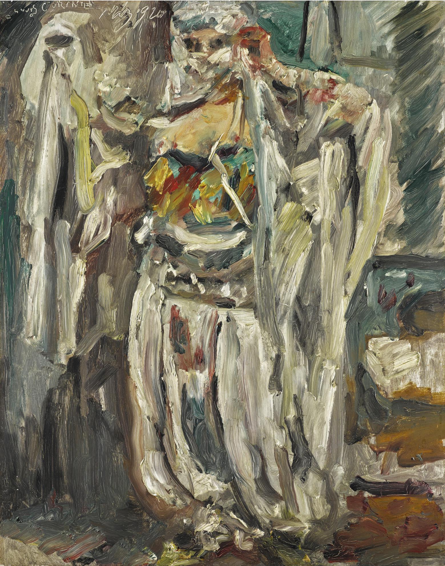 Lovis Corinth-Odaliske (Odalisque)-1920