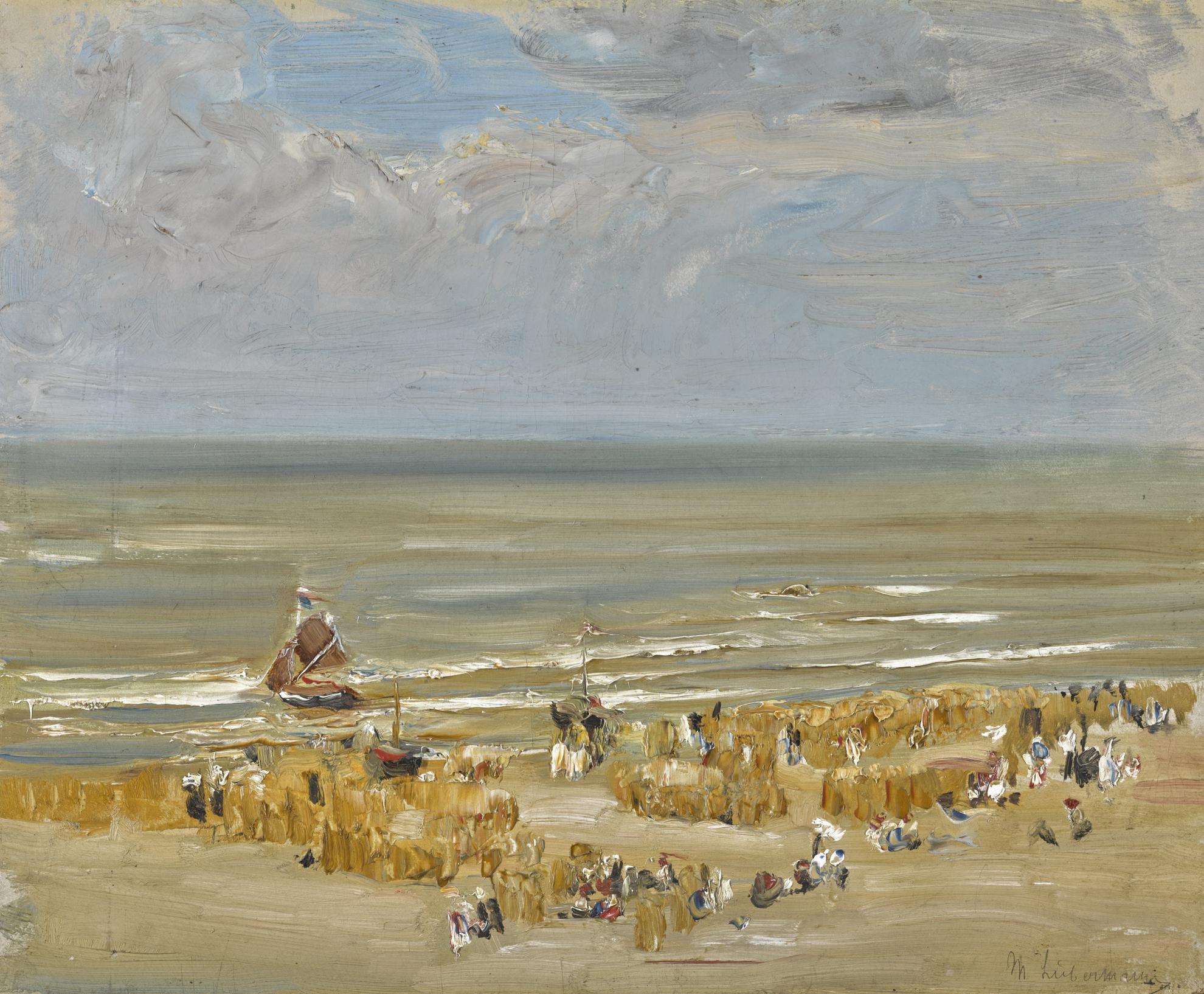 Max Liebermann-Strand Von Noordwijk (Beach Of Noordwijk)-1907