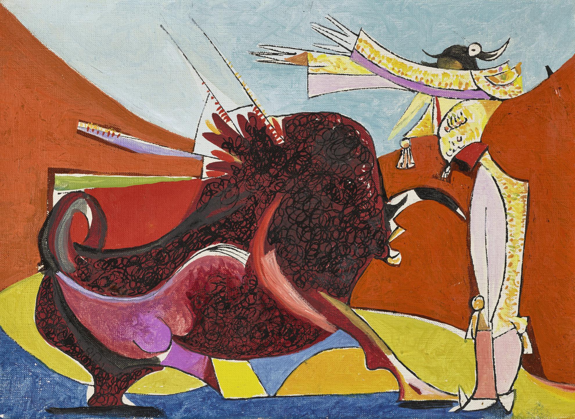 Oscar Dominguez-Torero, Banderillas-1956
