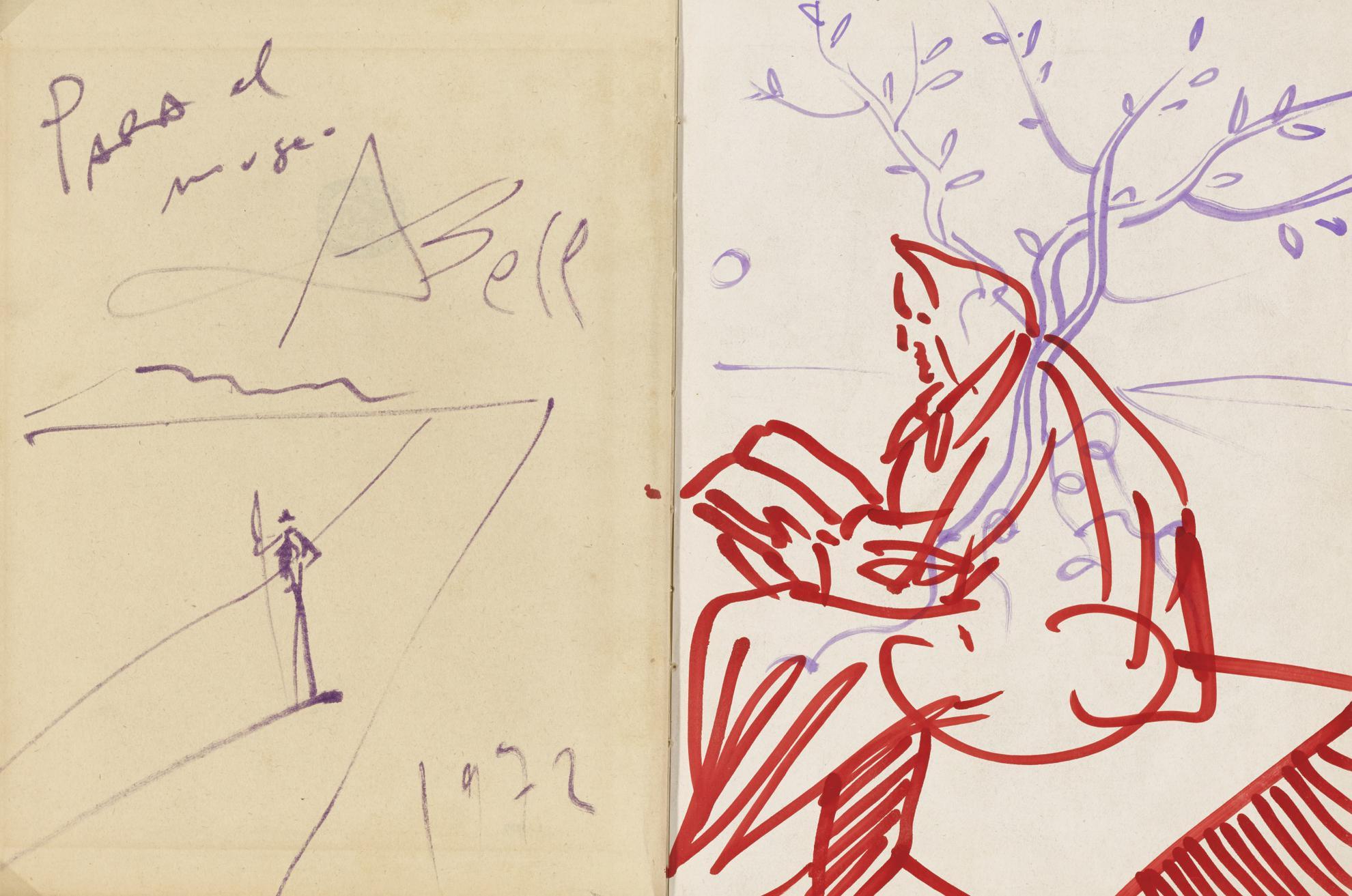 Salvador Dali-Untitled-1972