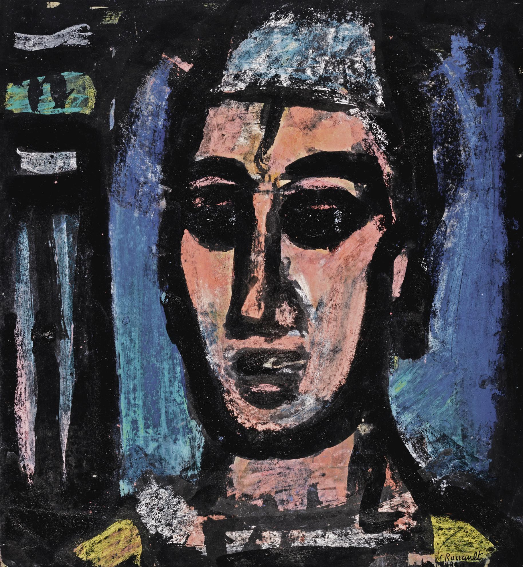 Georges Rouault-Qui Donc Se Connait-1930