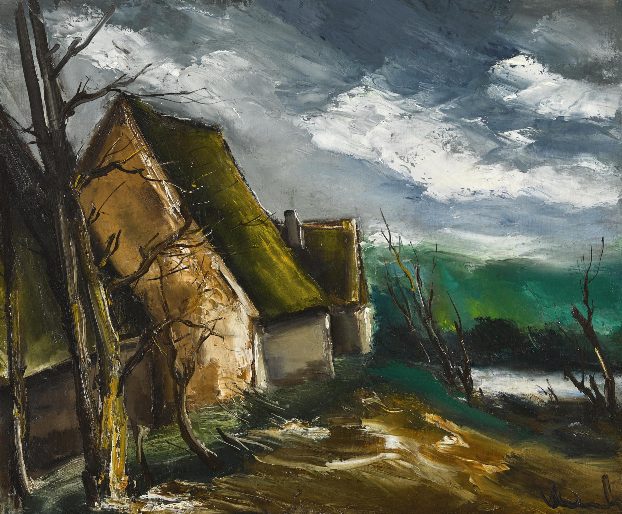 Maurice de Vlaminck-La Haute Folie-1940