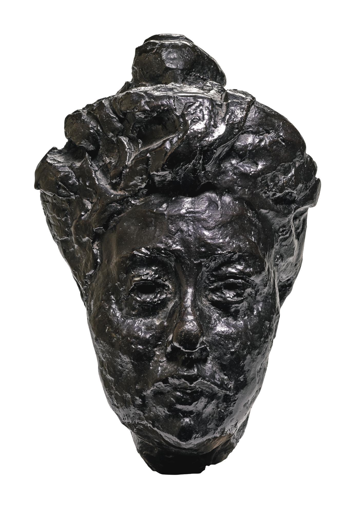 Auguste Rodin-Tete De Madame Druet-1898