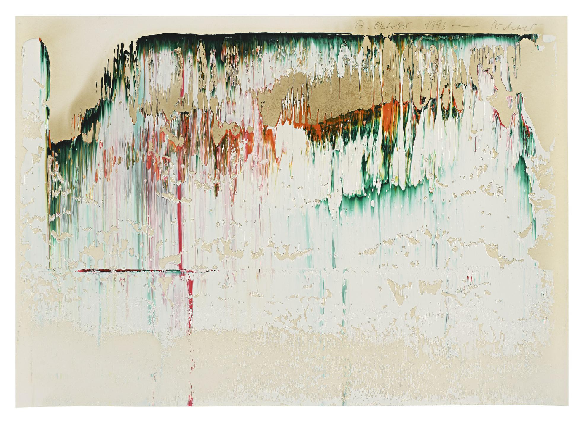 Gerhard Richter-17. Oktober 1996-1996
