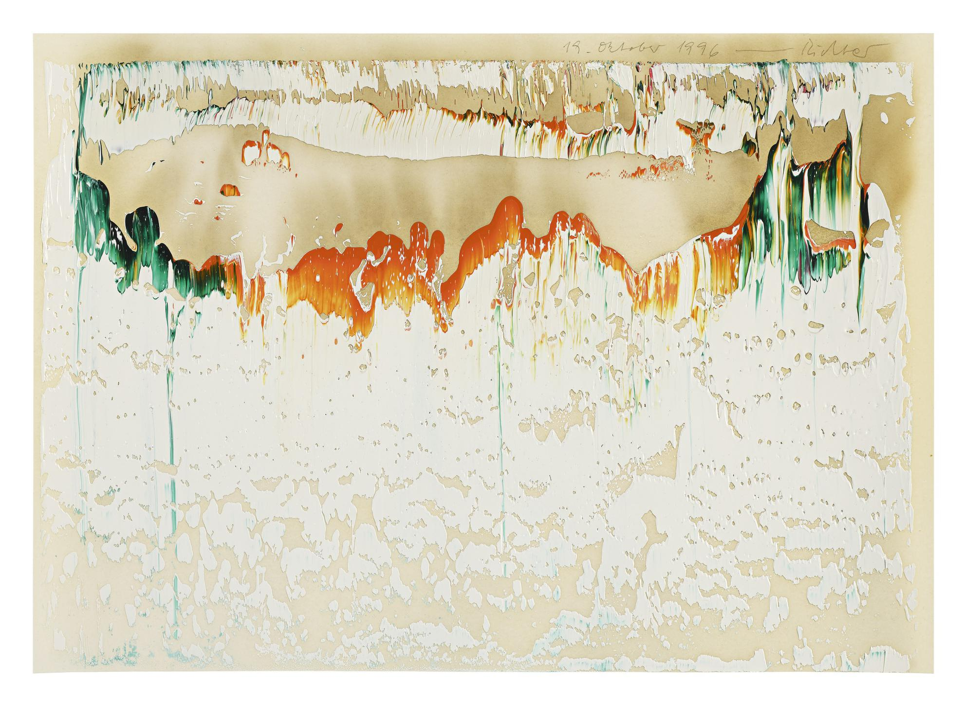 Gerhard Richter-19. Oktober 1996-1996