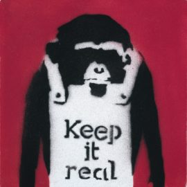 Banksy-Keep It Real-2002