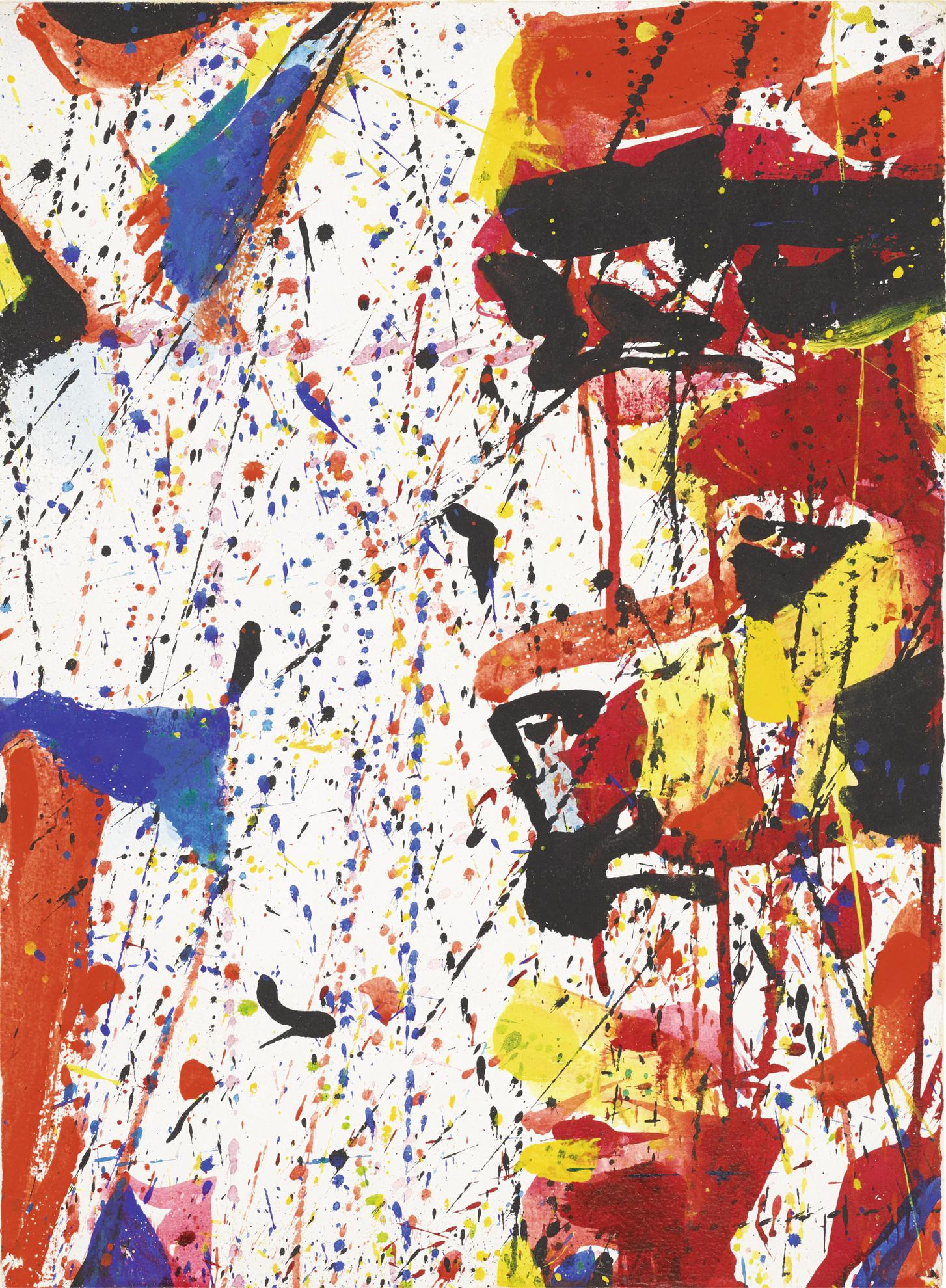 Sam Francis-Untitled-1959