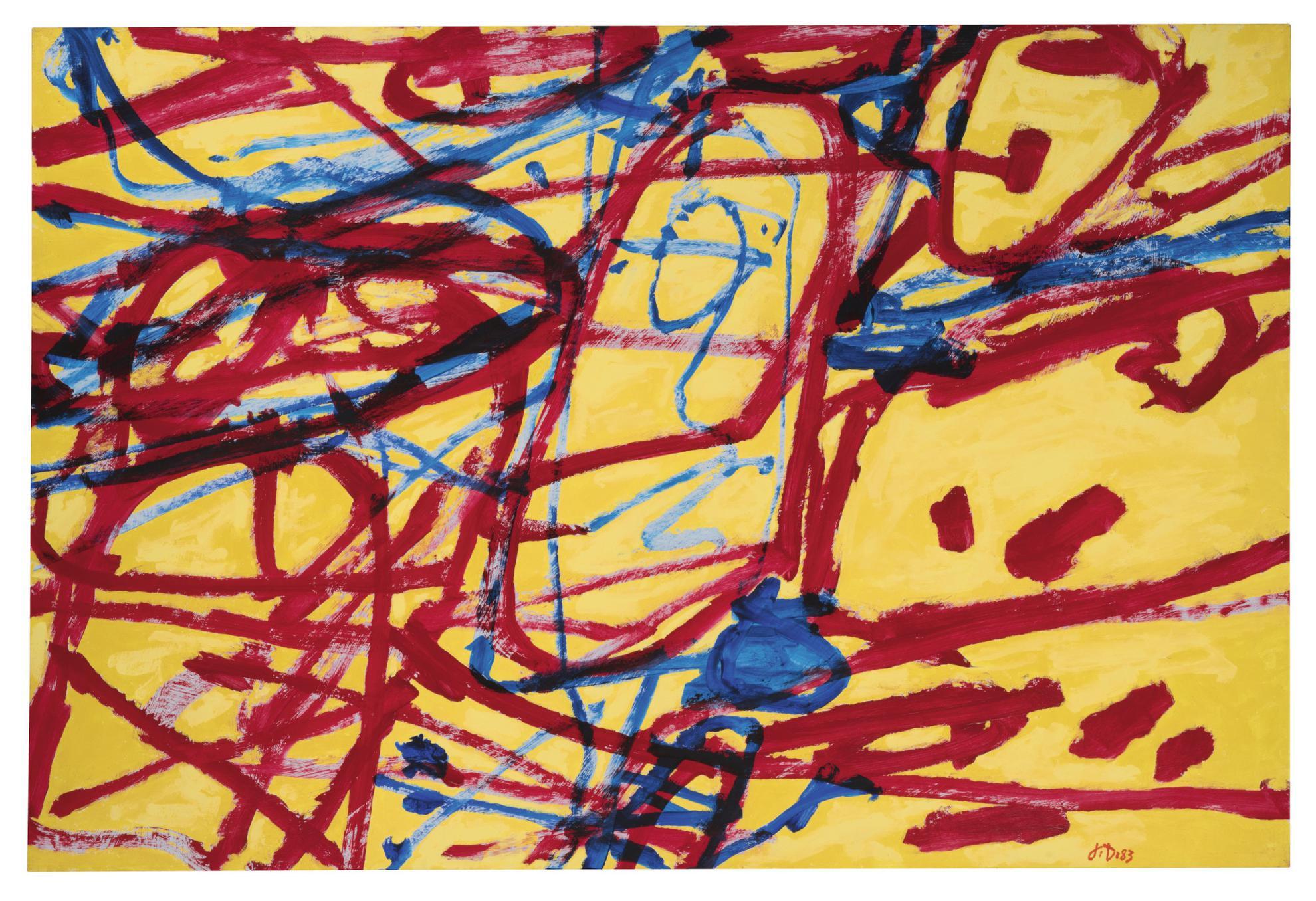 Jean Dubuffet-Mire G 78 (Kowloon)-1983