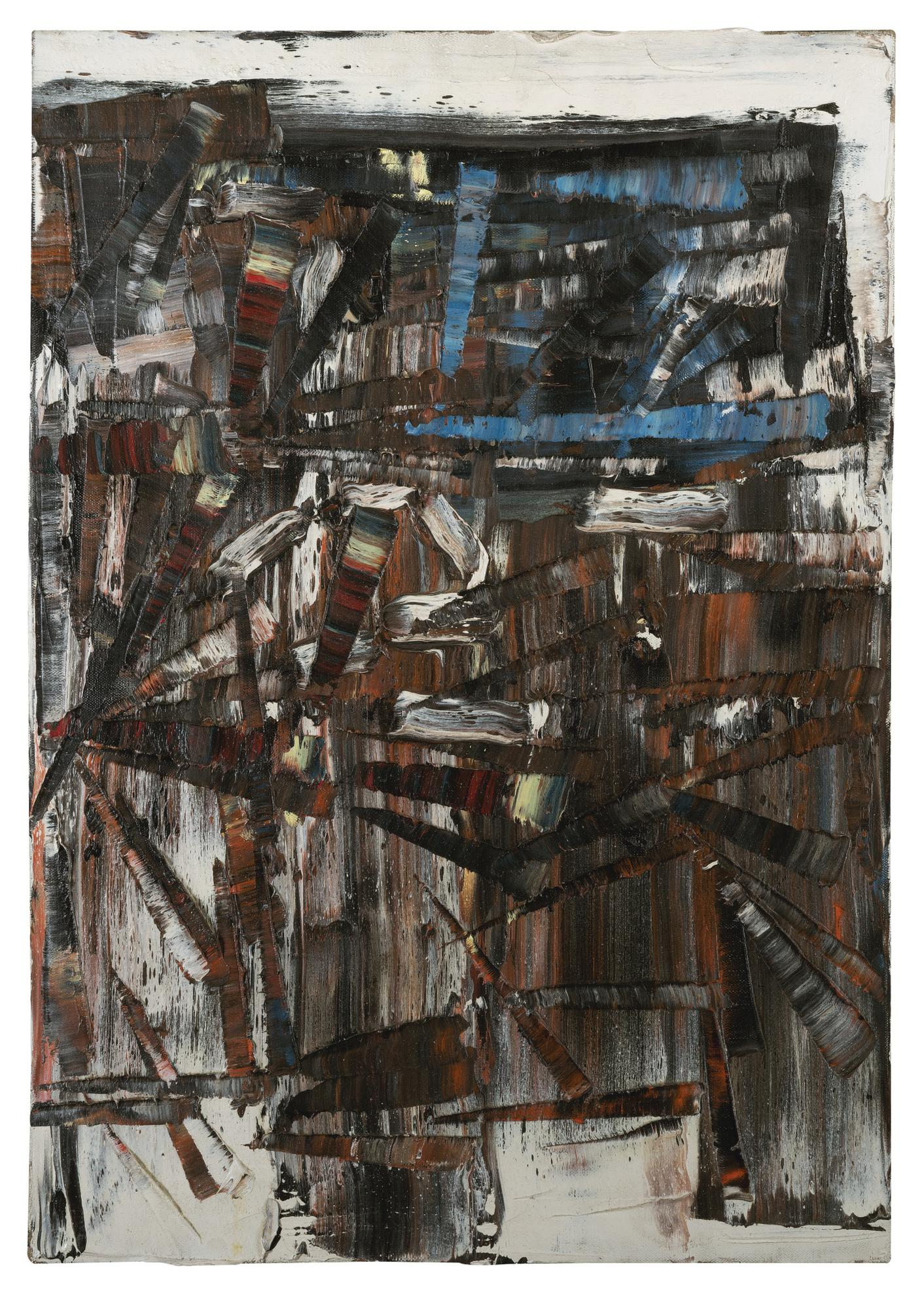 Jean-Paul Riopelle-Composition-1966