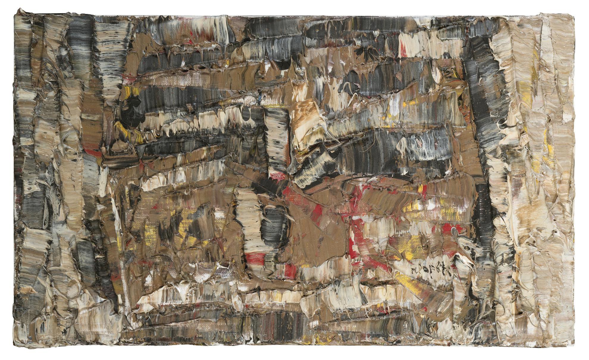 Jean-Paul Riopelle-Composition-1977