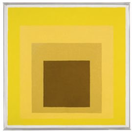 Josef Albers-Study For Homage To The Square: Astounded-1961