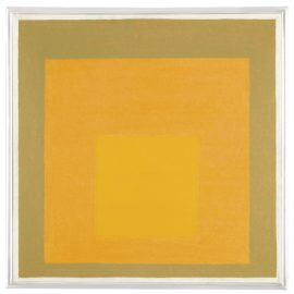 Josef Albers-Study For Homage To The Square: Orange Scent-1961