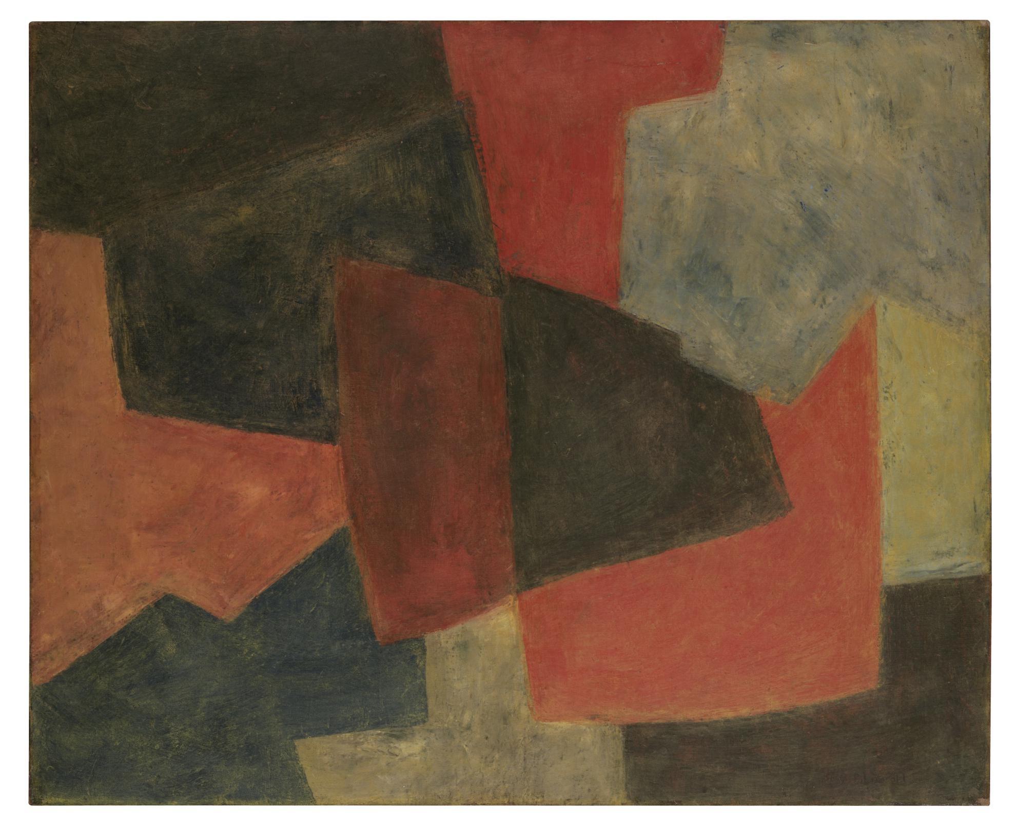 Serge Poliakoff-Composition Abstraite-1963