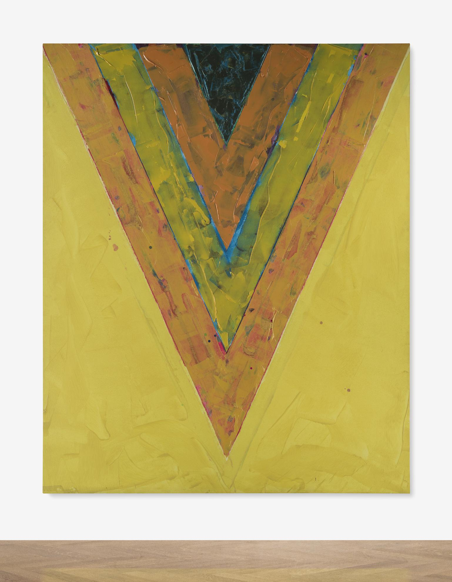 Kenneth Noland-Untitled-1983