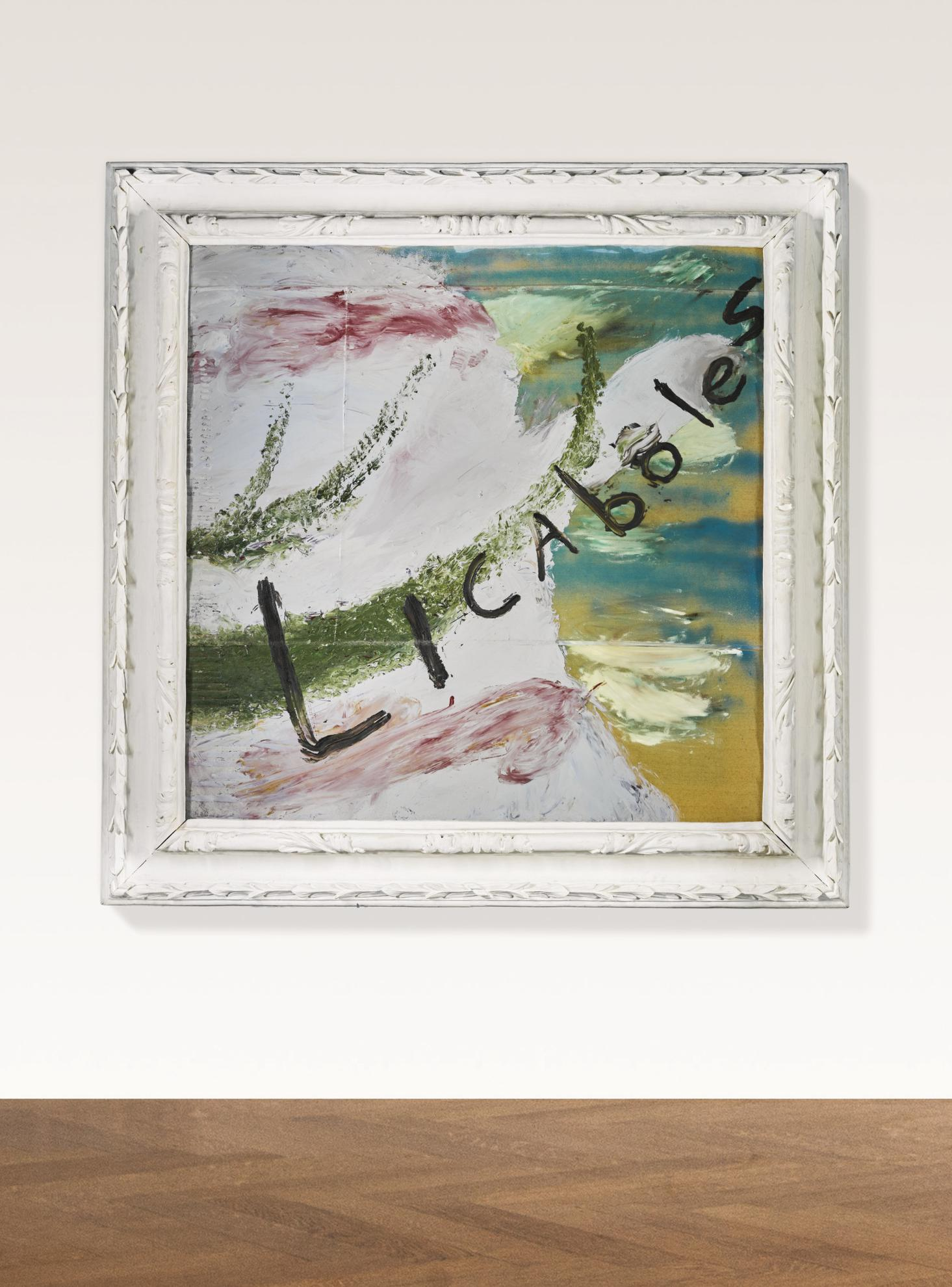 Julian Schnabel-Patch Of Blue The Prisoner Calls The Sky (Licaboles)-2000