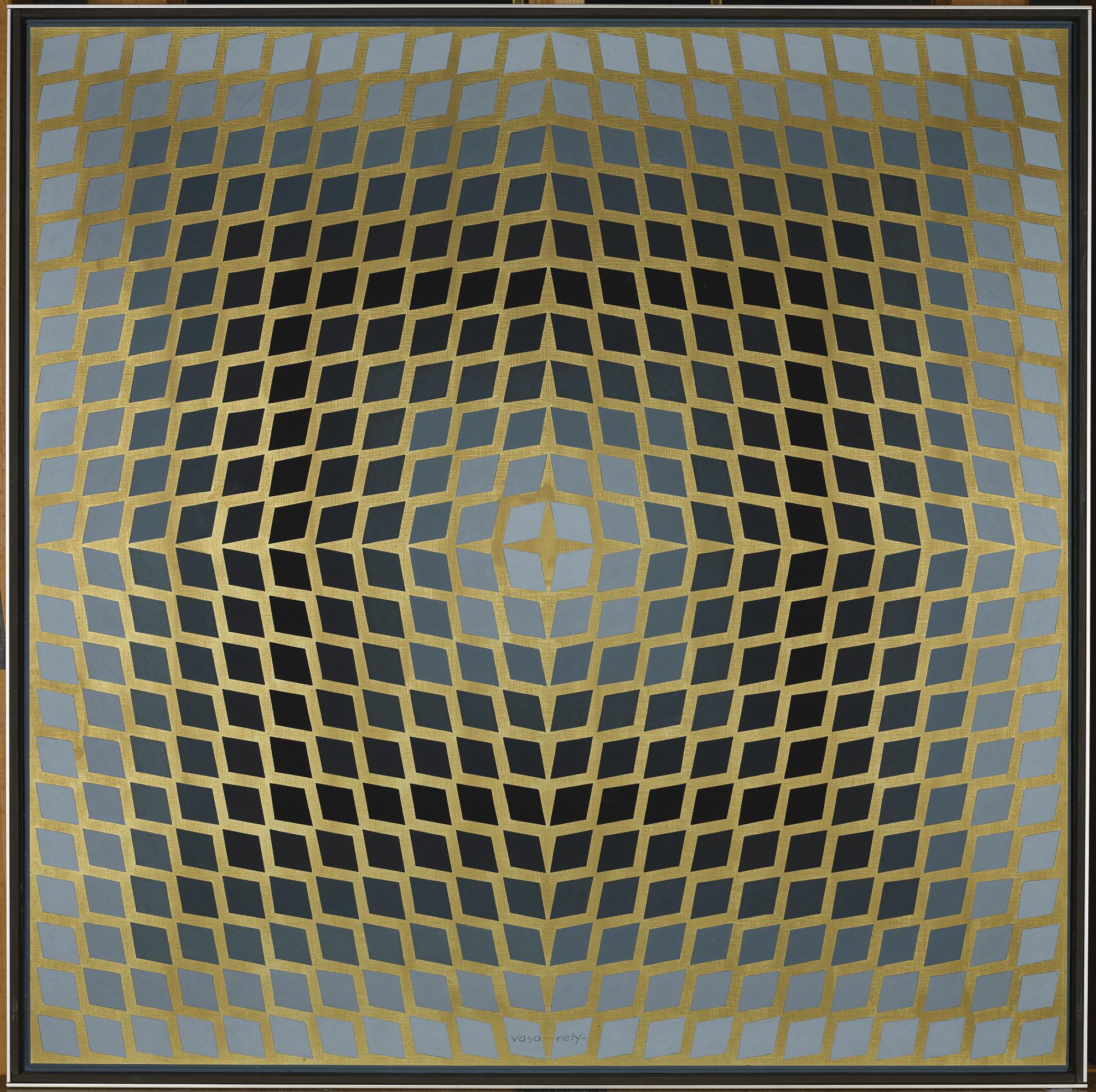Victor Vasarely-Pulsar - Va-1970
