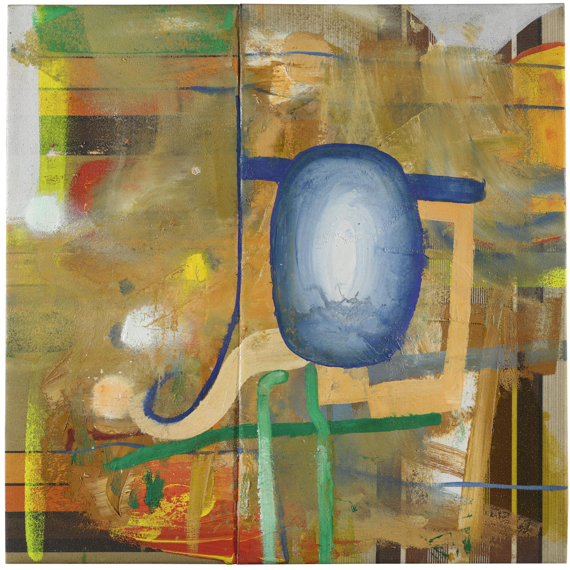 Albert Oehlen-Etwas Auf Herz Oder Leder-1999