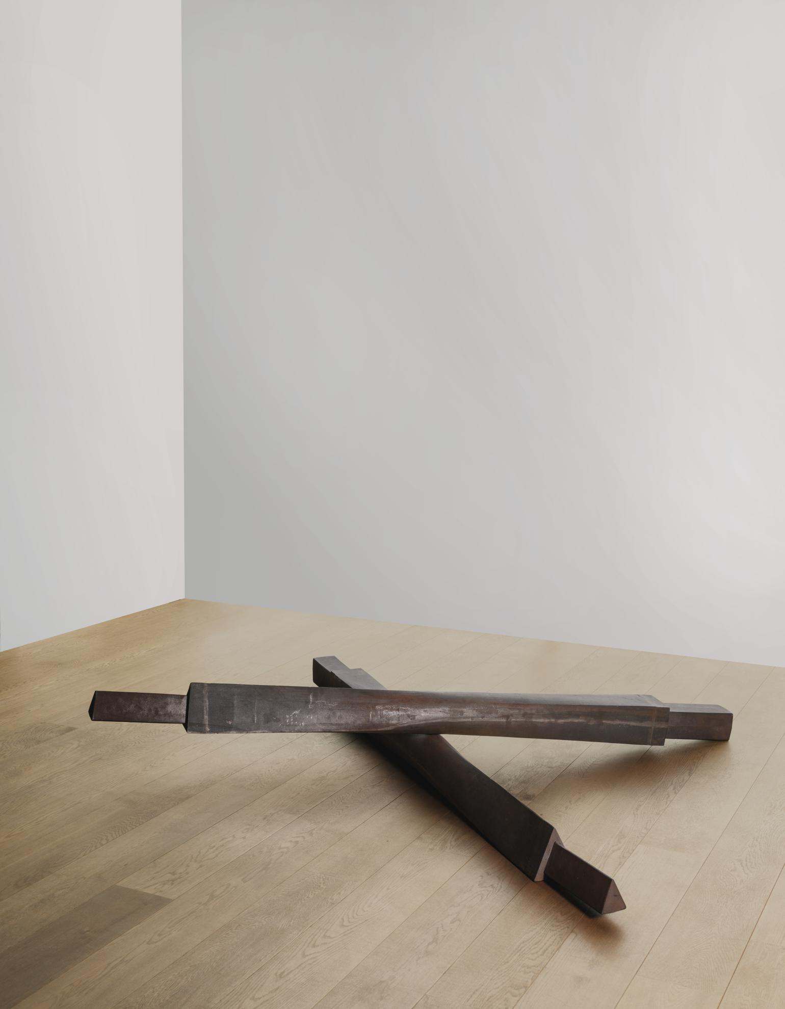 Bruce Nauman-Untitled (Cross Beams)-1988