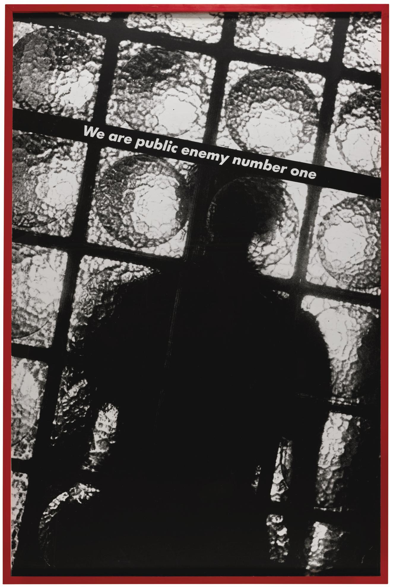 Barbara Kruger-We Are Public Enemy Number One-1984