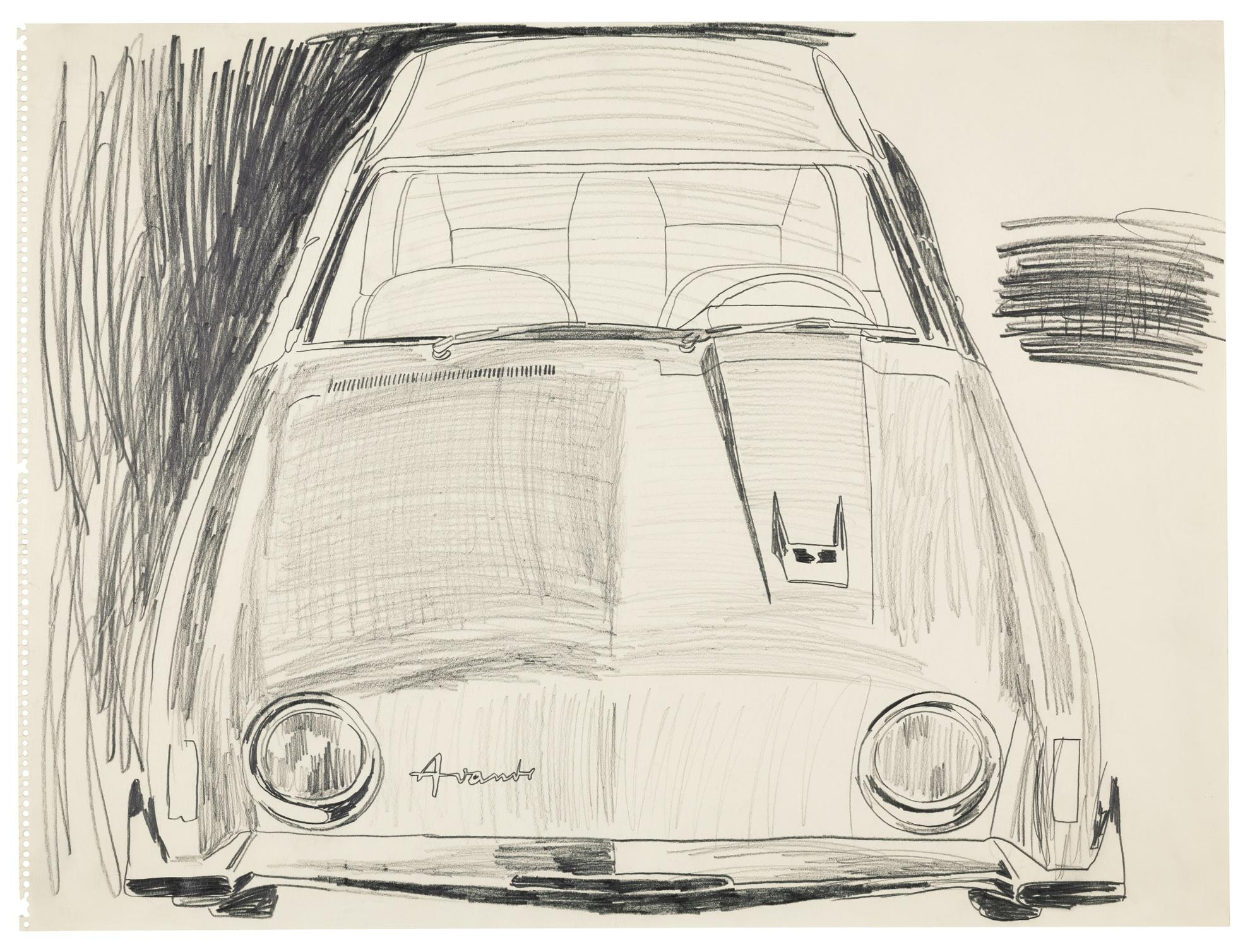 Andy Warhol-Untitled (Avanti)-1962