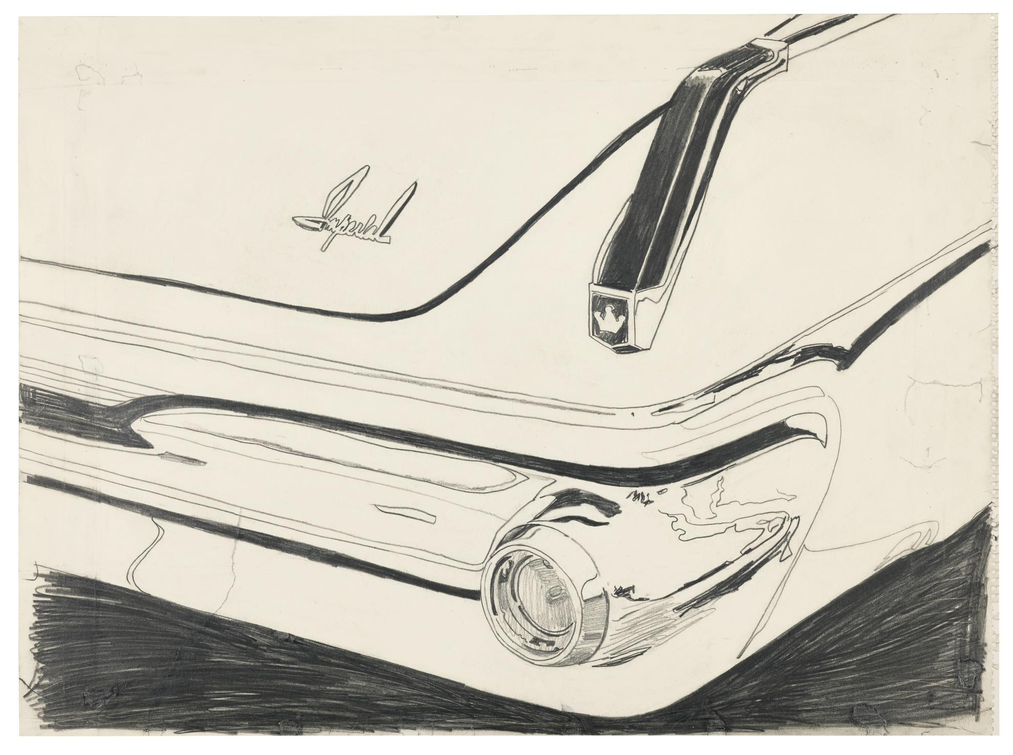 Andy Warhol-Untitled (Imperial Car Detail)-1962