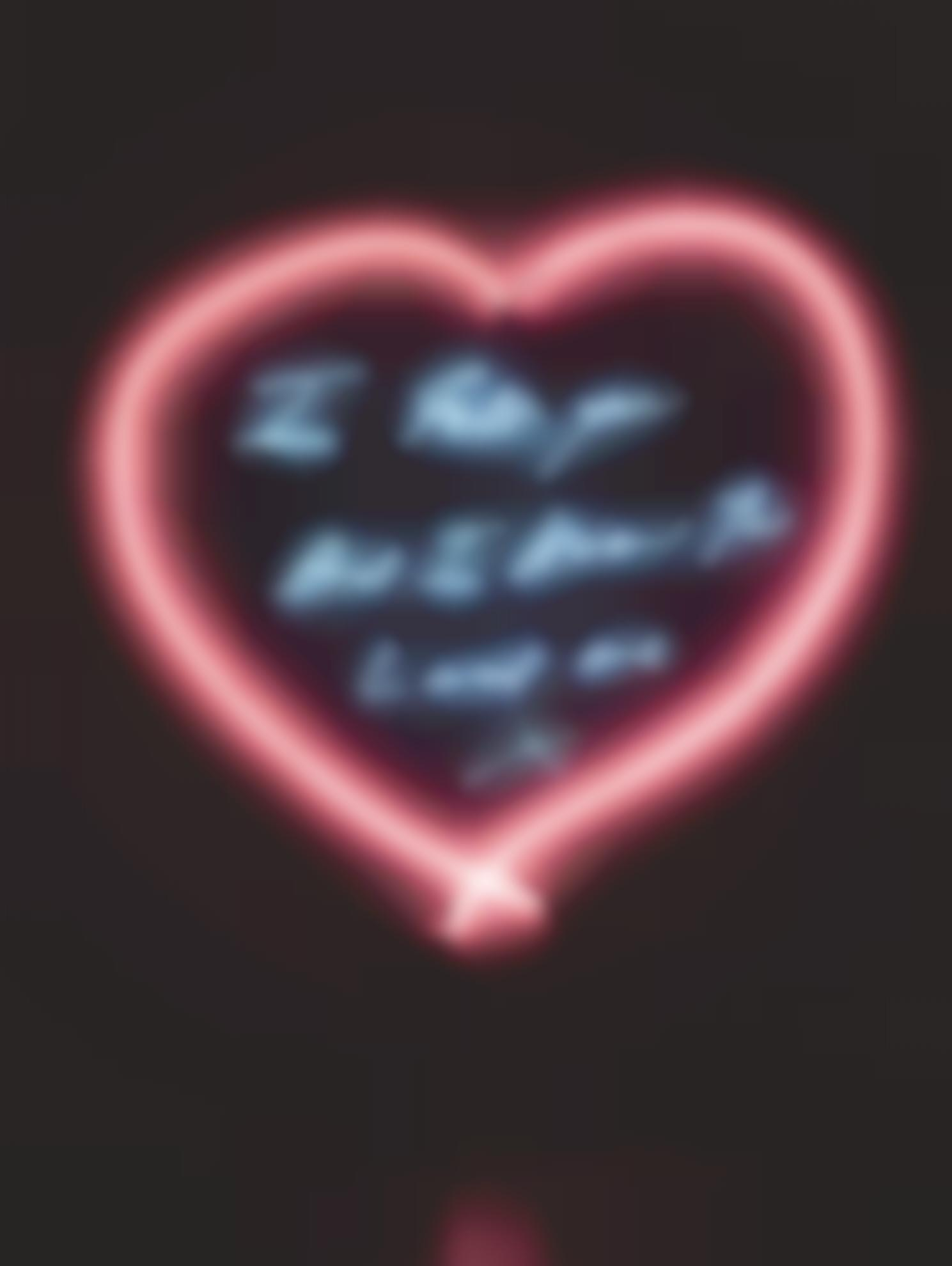 Tracey Emin-I Felt You And I Know You Loved Me-2008