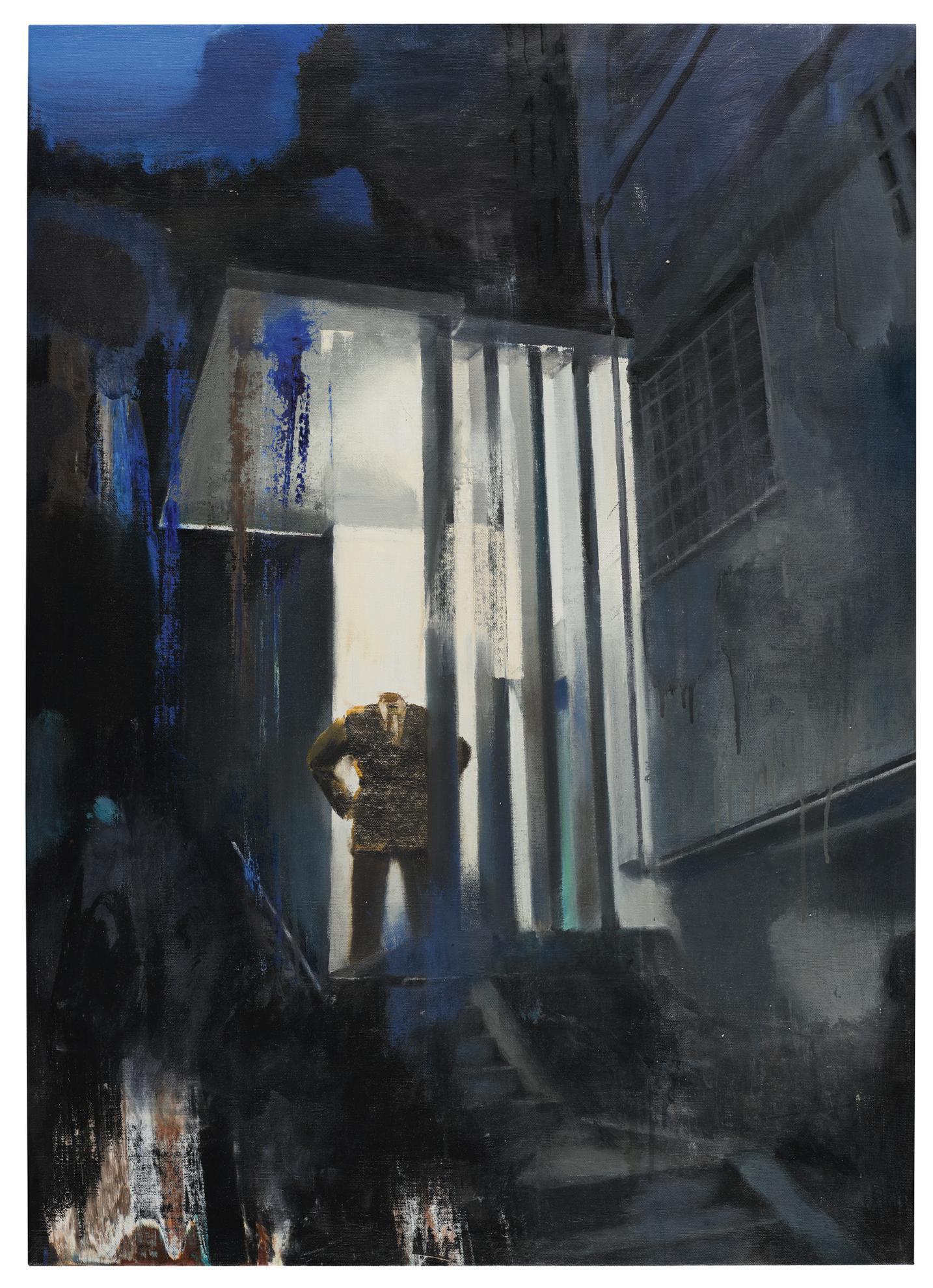 Adrian Ghenie-Untitled (The Artist As Elvis)-2010