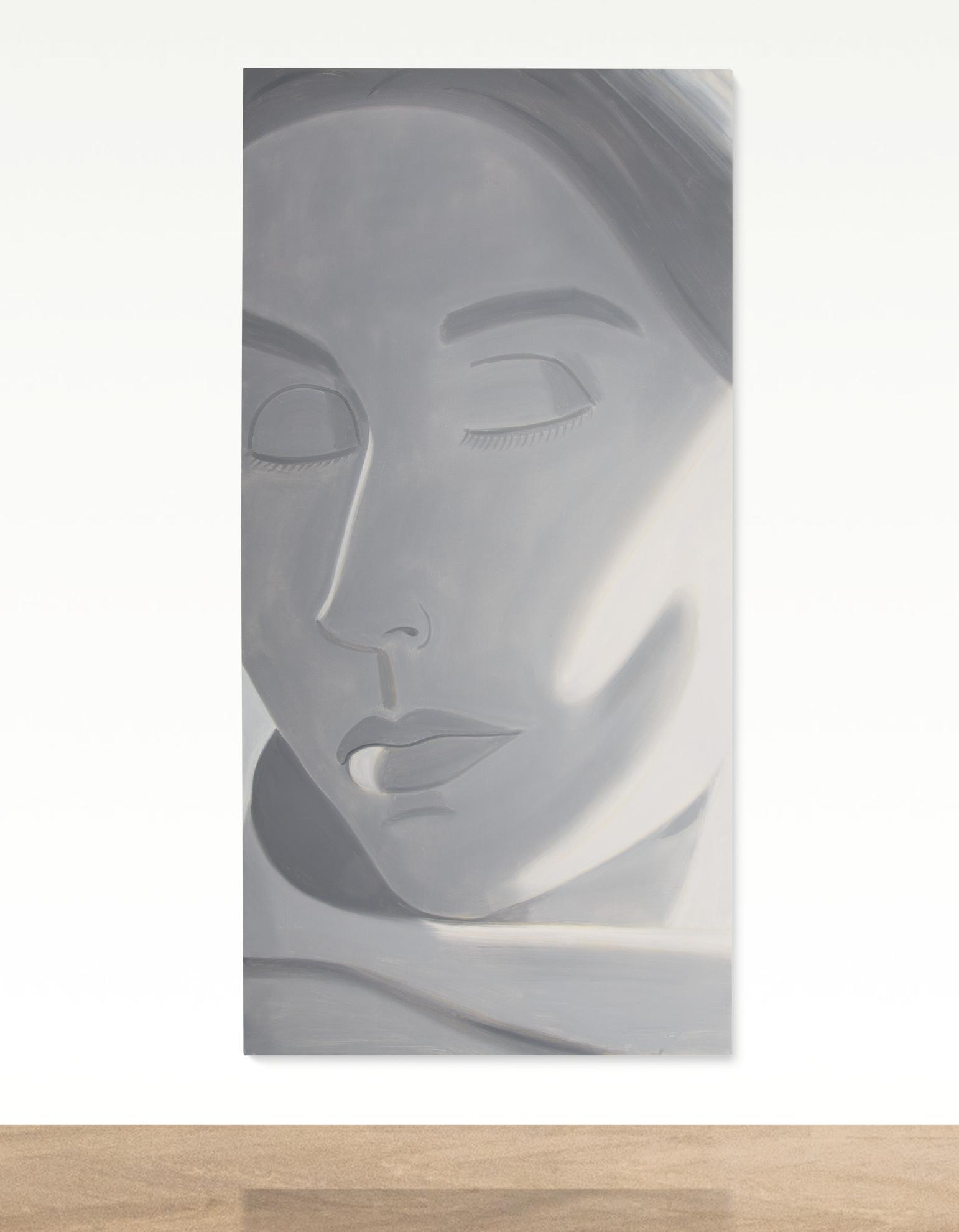 Alex Katz-Eyes Closed-2004