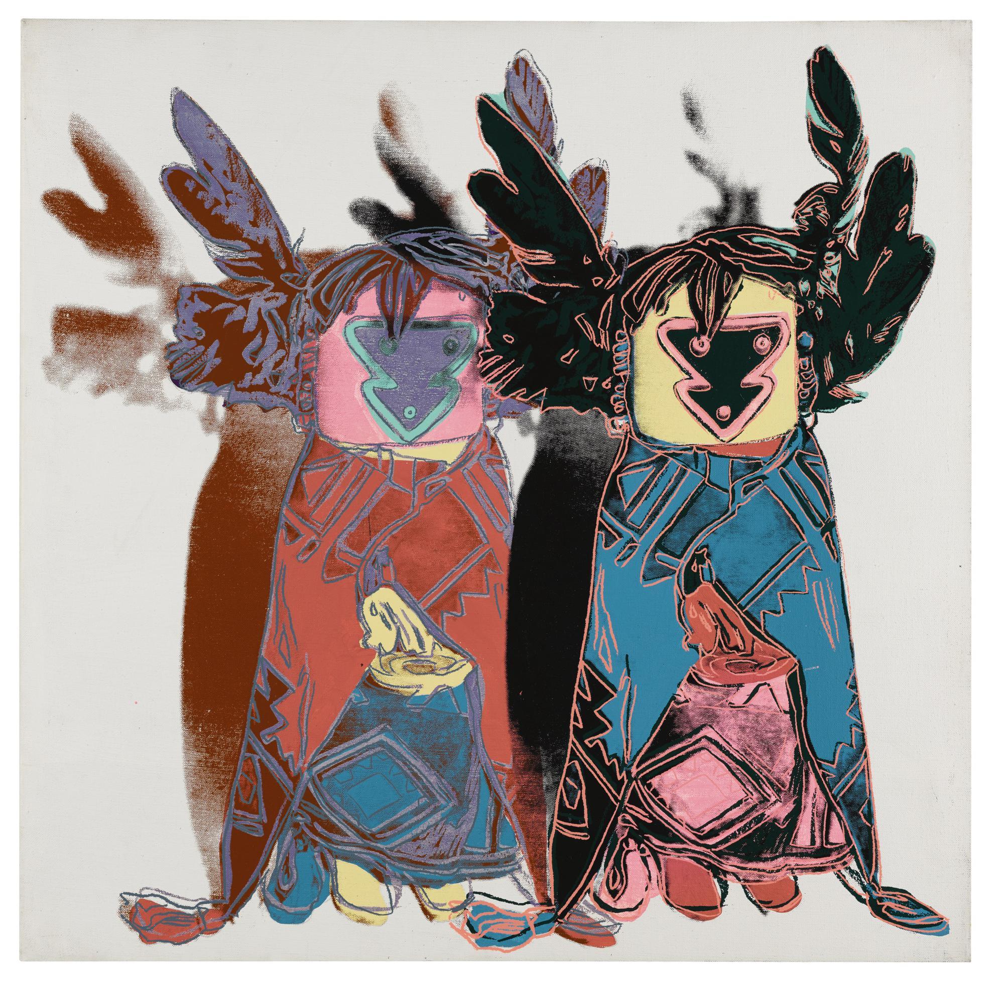 Andy Warhol-Kachina Dolls-1986