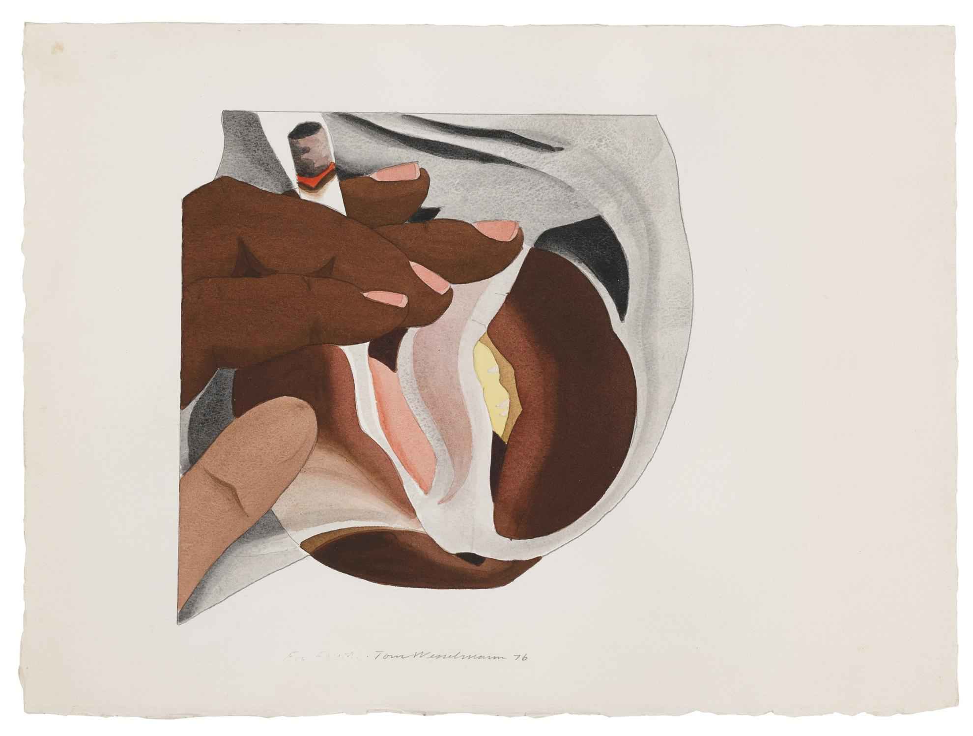 Tom Wesselmann-From Smoker #24-1976