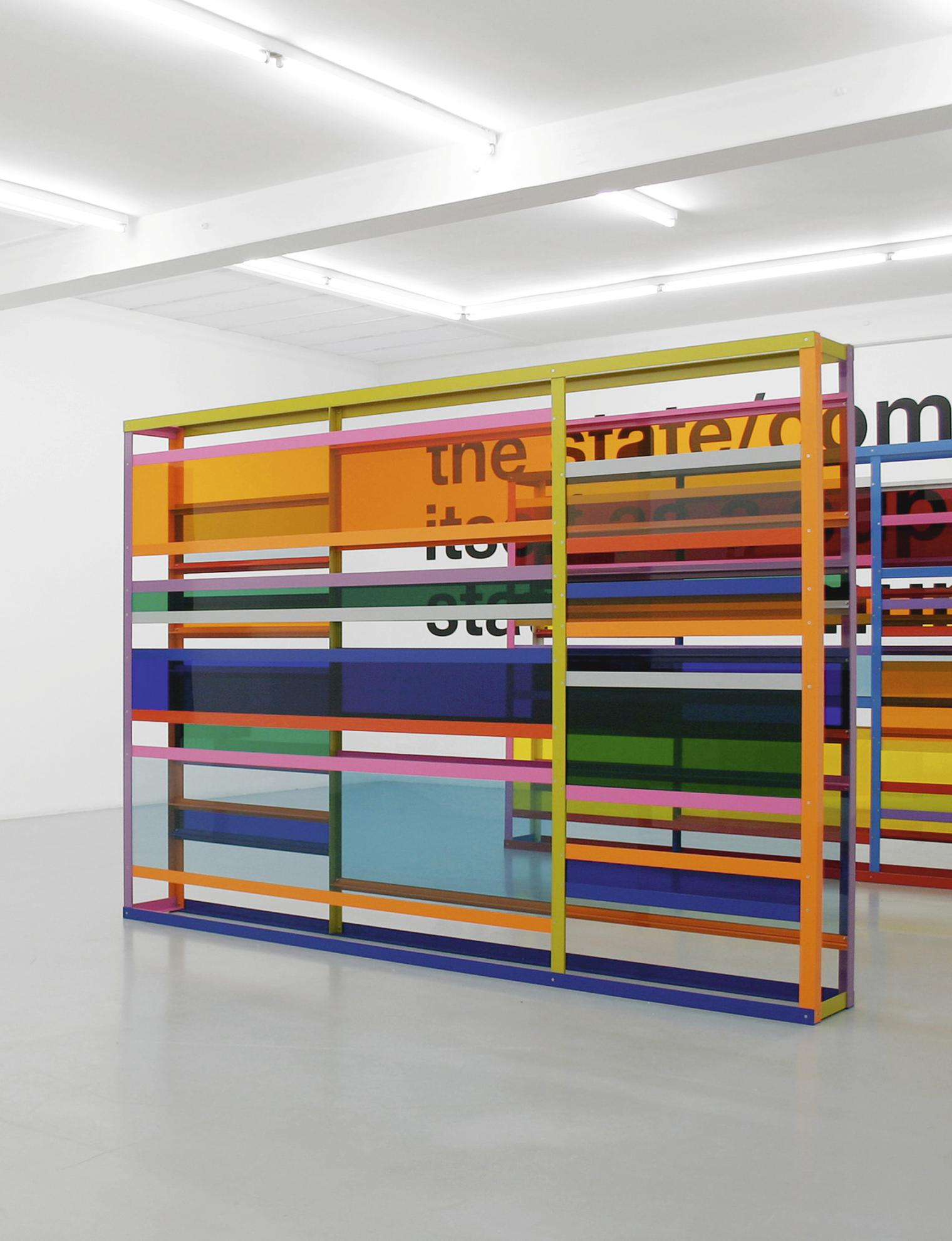 Liam Gillick-Long View Towards A Renovated Factory-2007