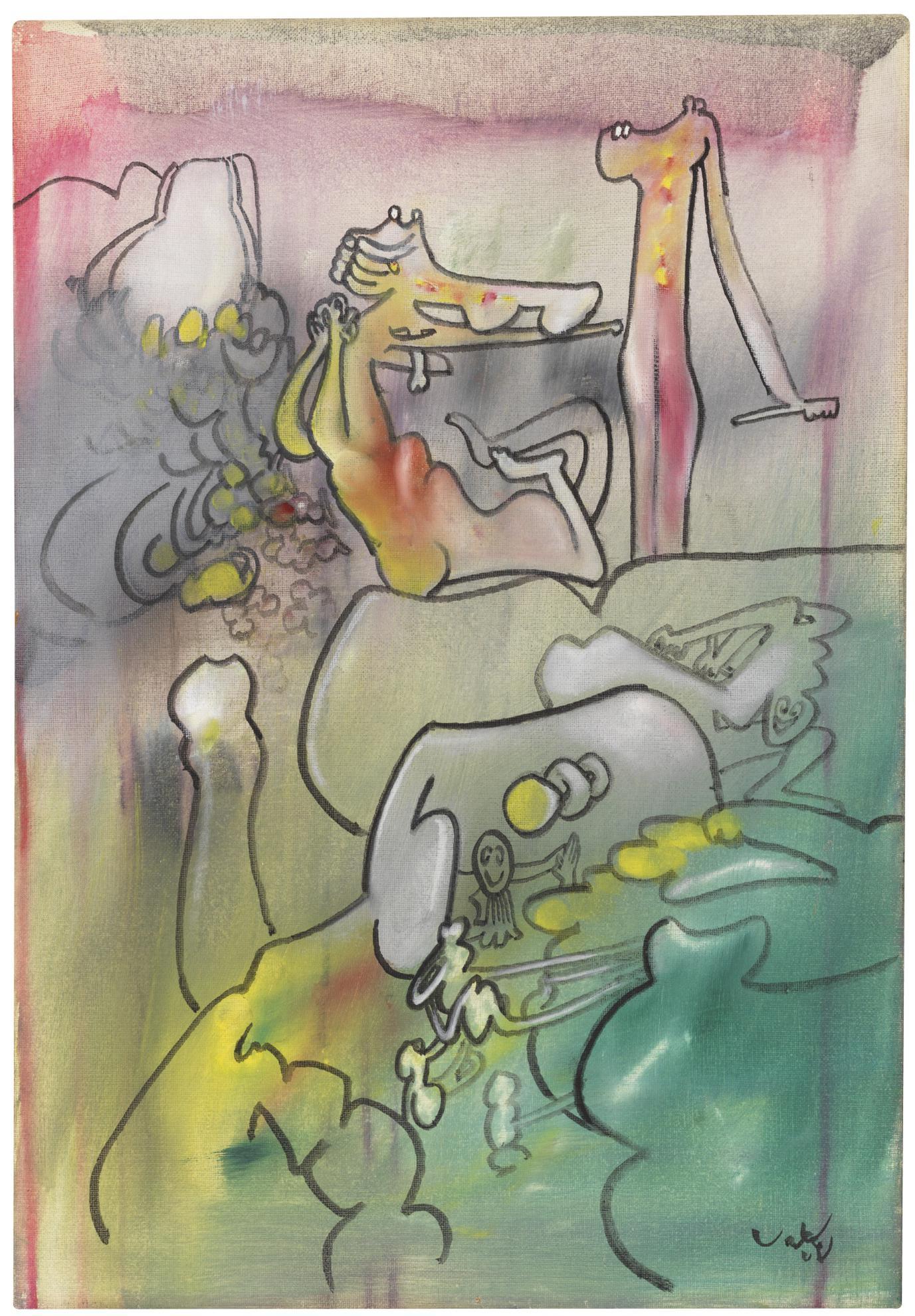 Roberto Matta-Programame Mucho-1971