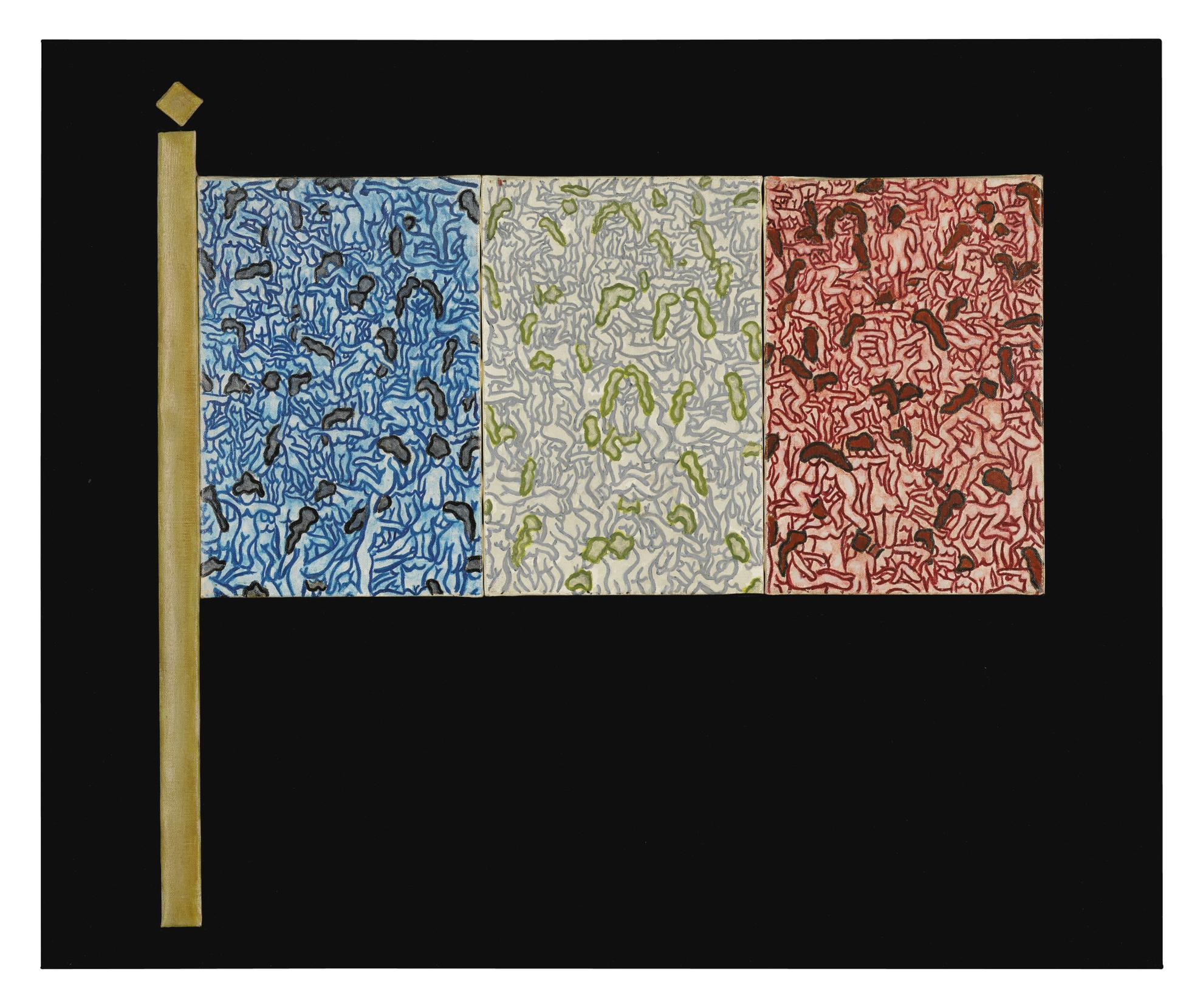 William Copley-A Flag Is A Rag-1960