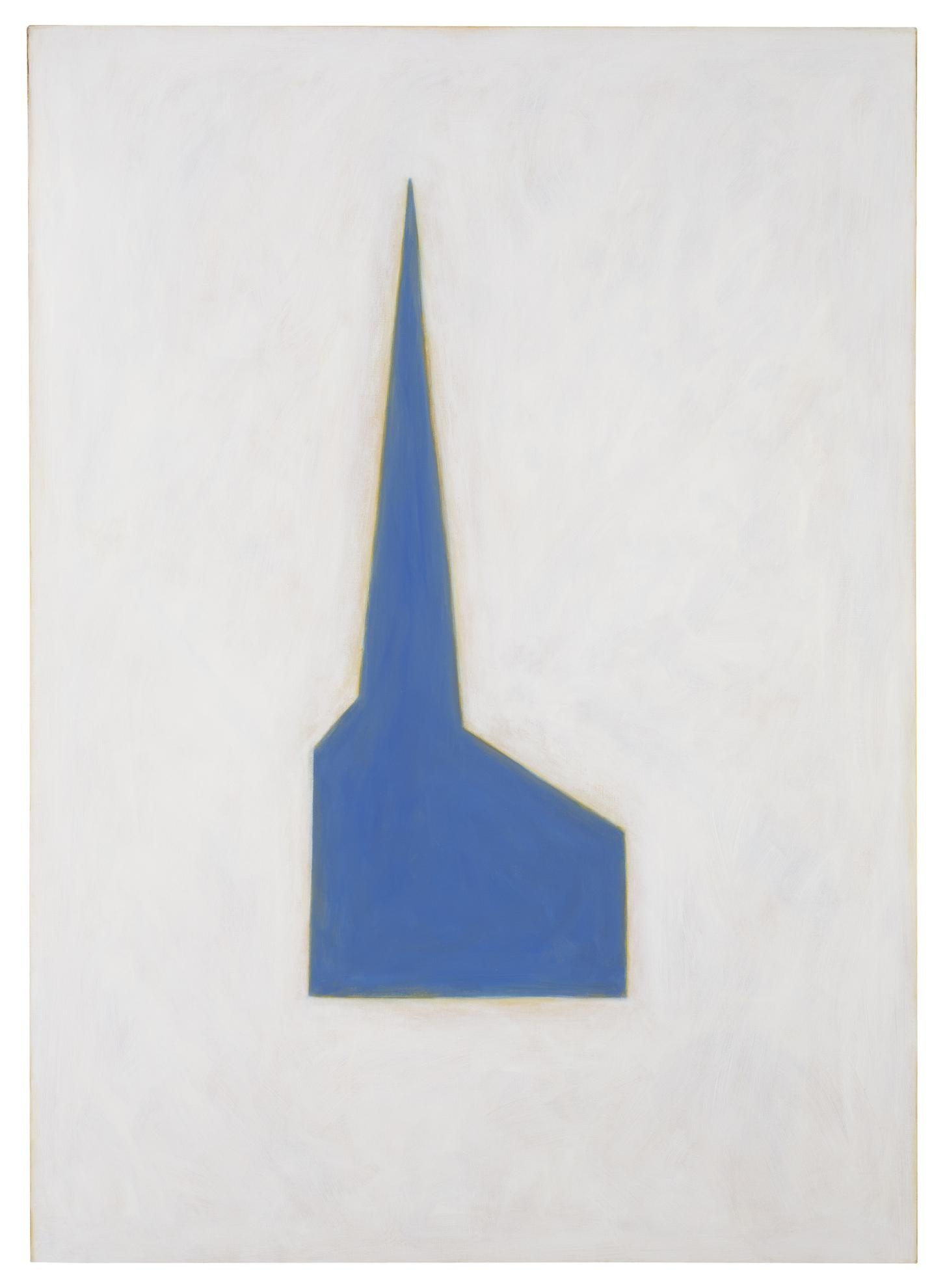 Robert Therrien-Untitled (Blue Chapel)-1986