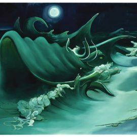 Inka Essenhigh-Waves At Midnight-2002