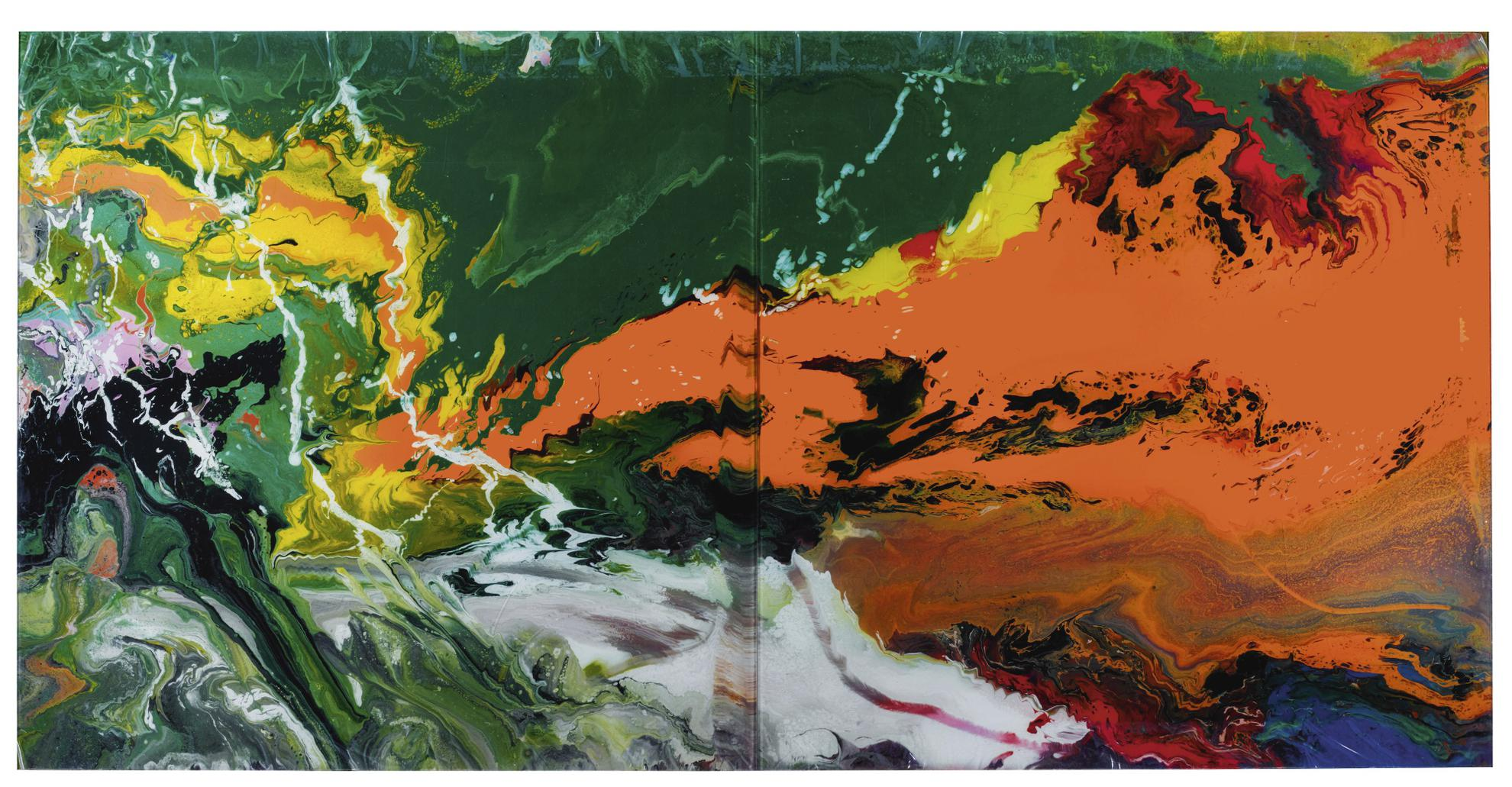 Gerhard Richter-Flow (15)-2016