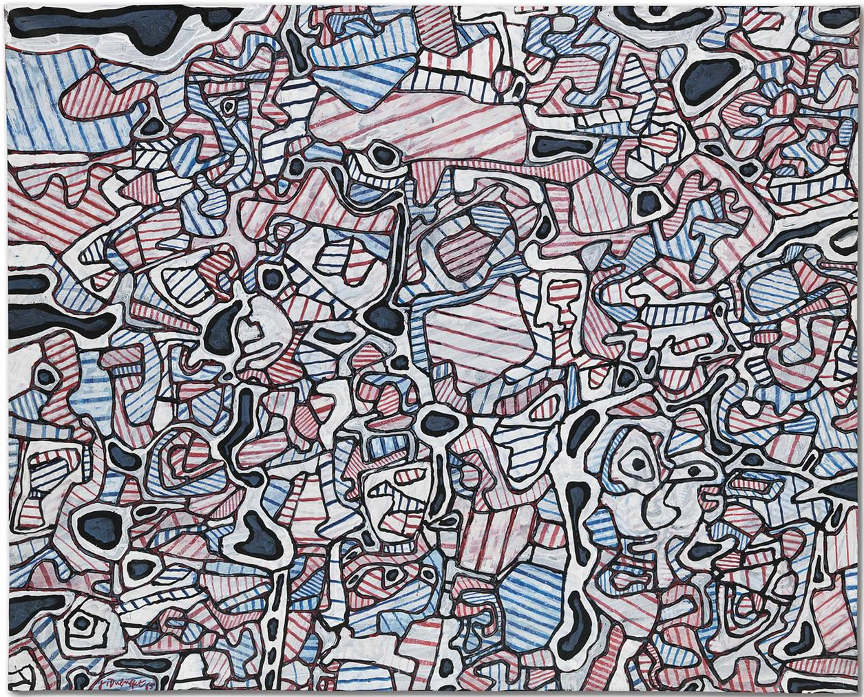 Jean Dubuffet-Partition-1965
