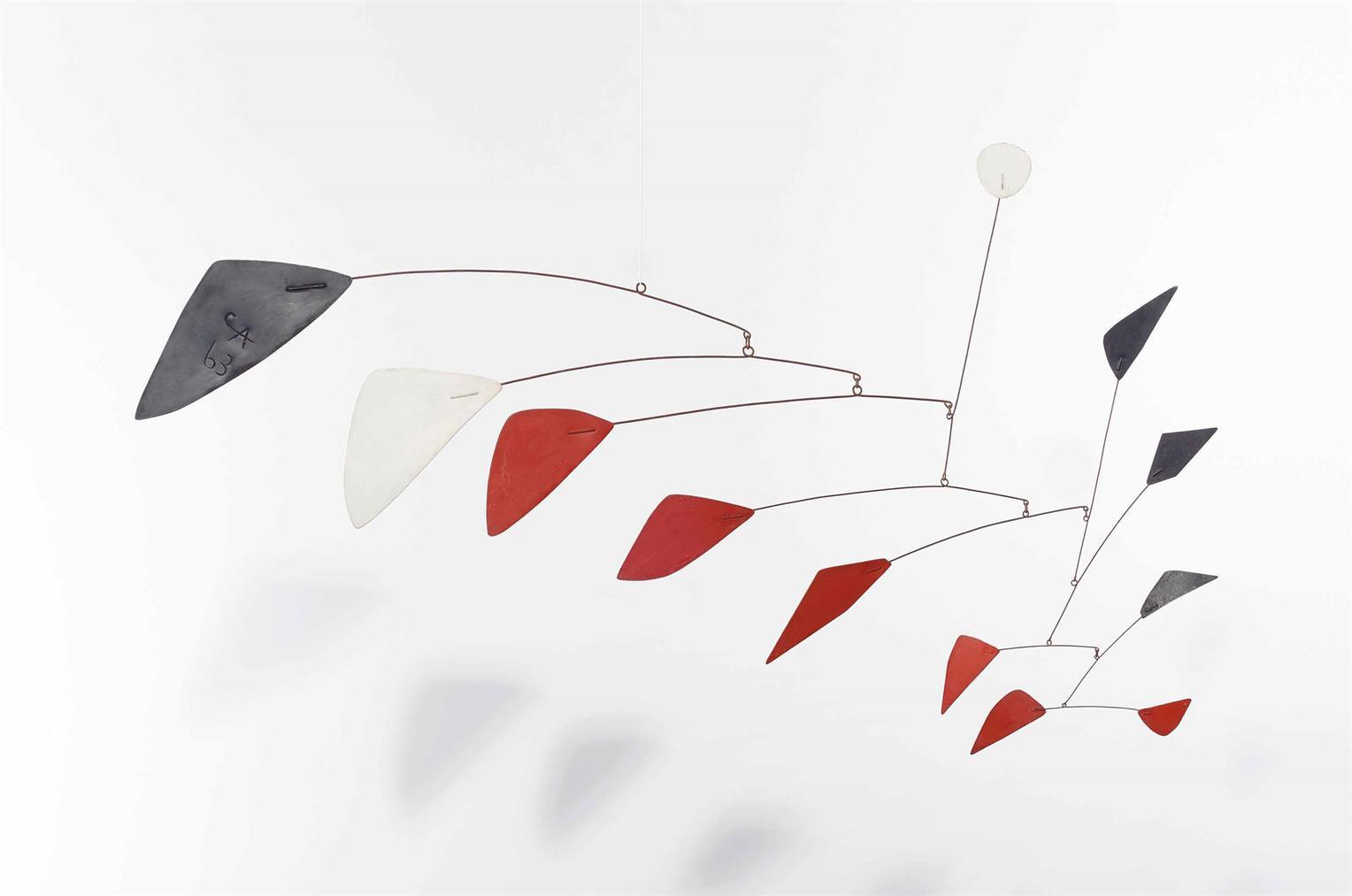 Alexander Calder-Sans Titre-1963