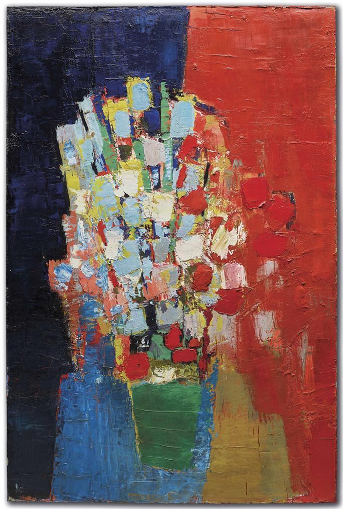 Nicolas de Stael-Fleurs-1952