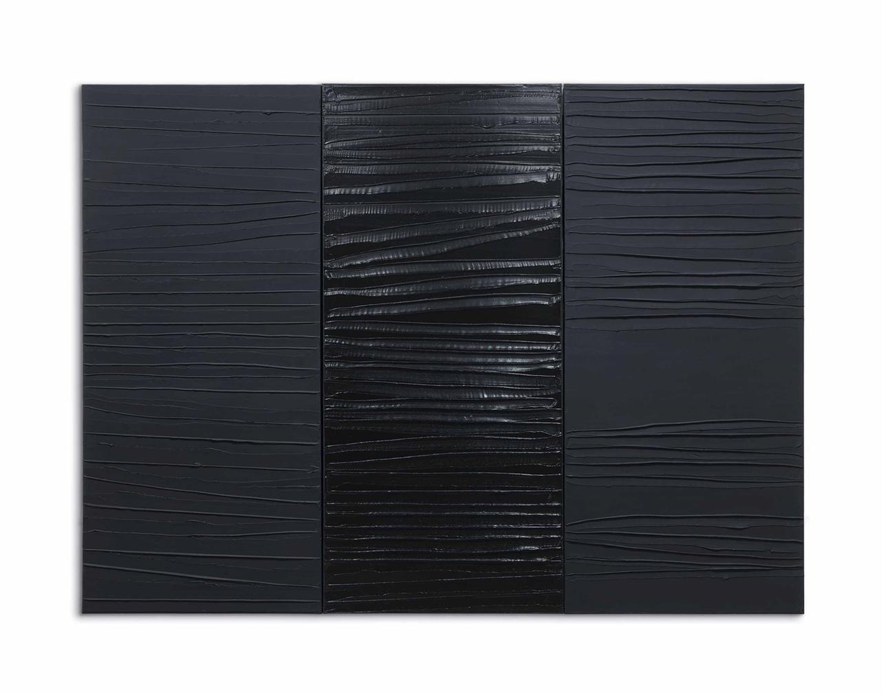 Pierre Soulages-Peinture 227 X 306 Cm, 2 Mars 2009-2009