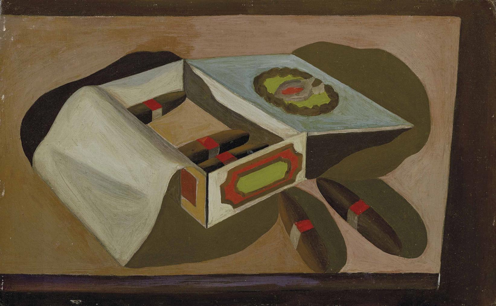 Humphrey Jennings - Cigar Box-1930