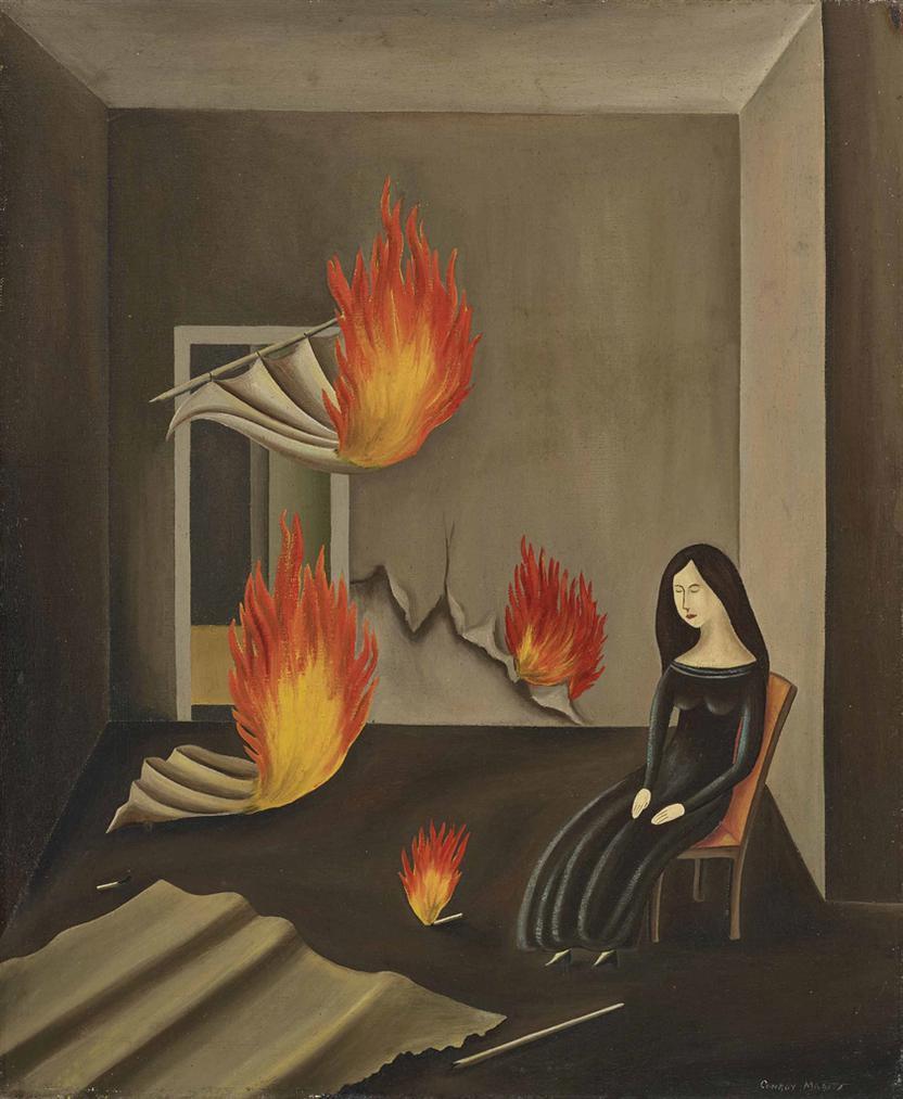 Conroy Maddox-Poltergeist-1941