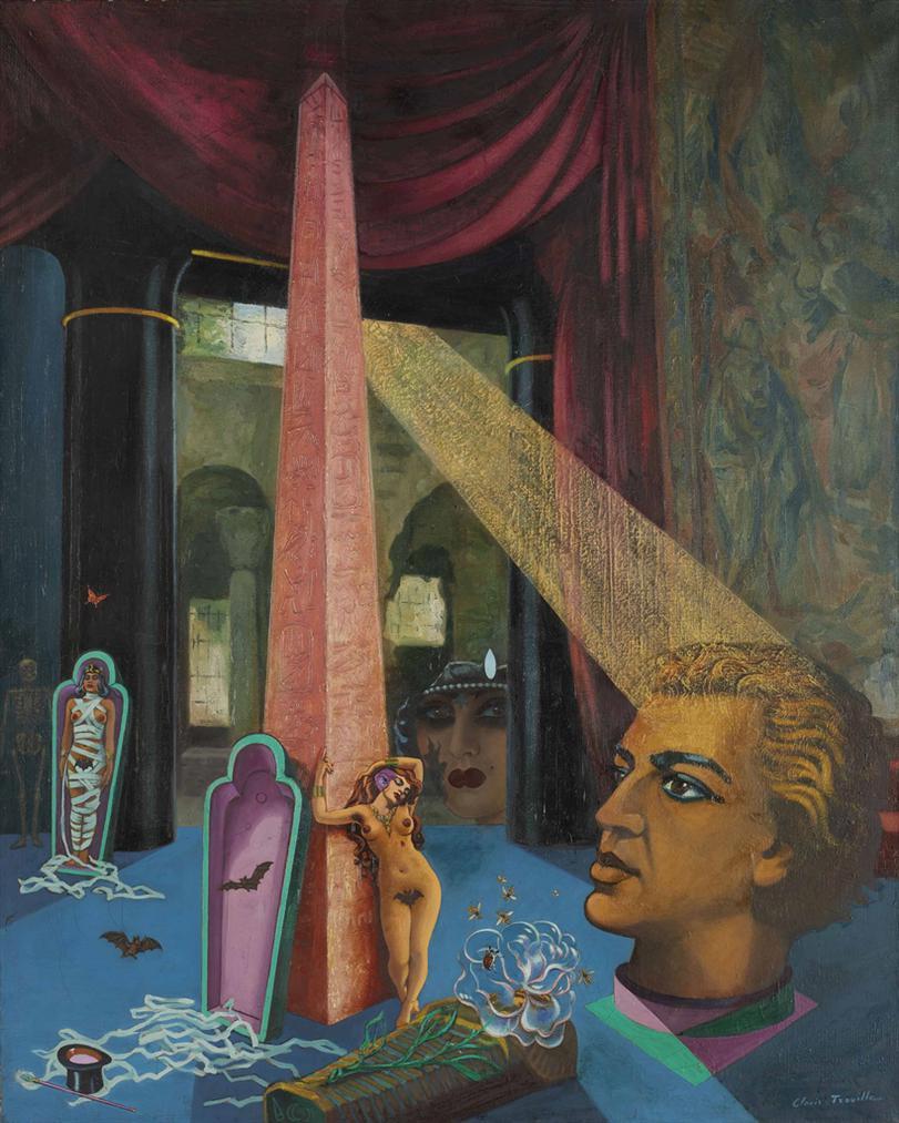 Clovis Trouille - La Momie Somnambule-1942