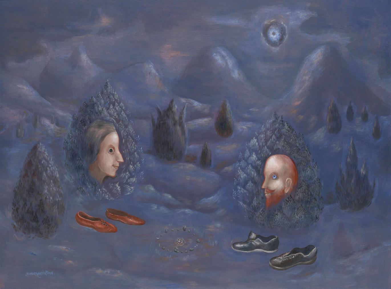 Leonora Carrington-Ajusco 2 A.M.-1987
