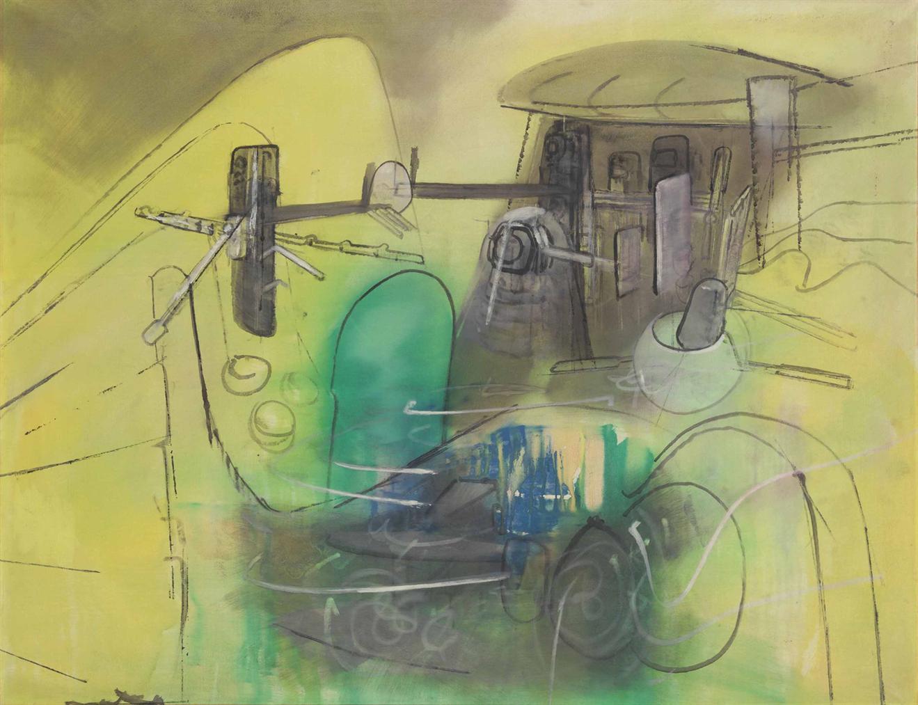 Roberto Matta-Sans Titre-1963