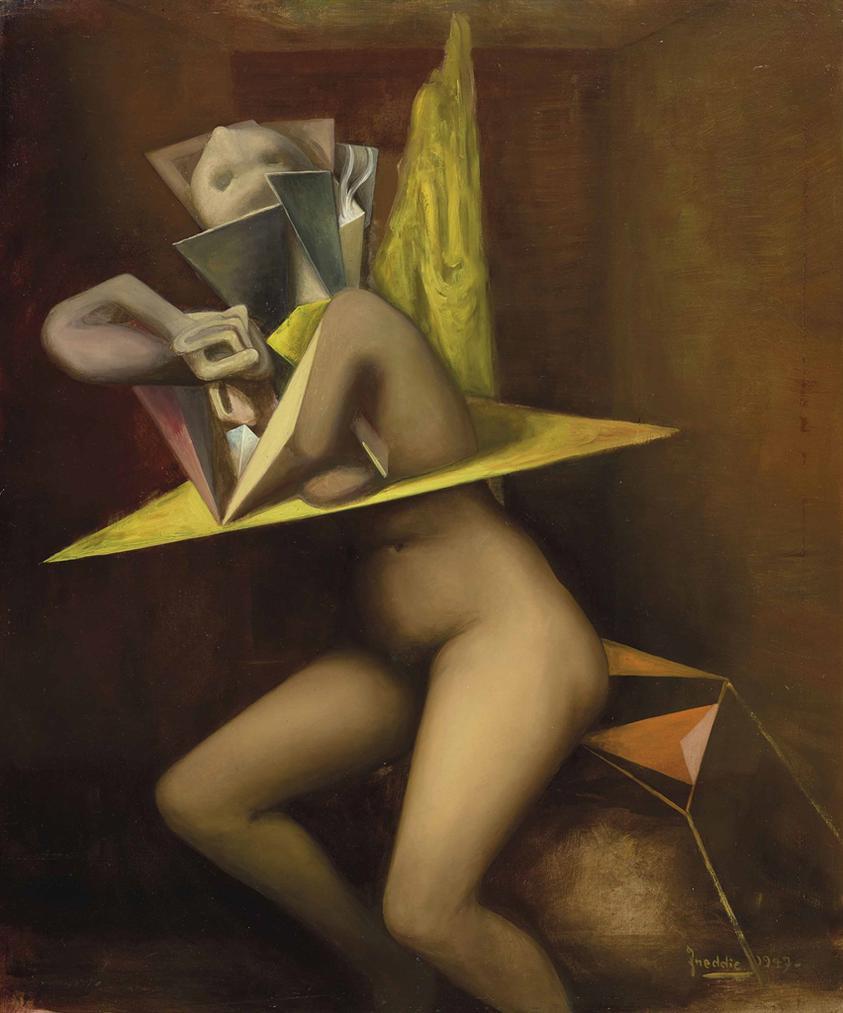 Wilhelm Freddie - Nude-1947