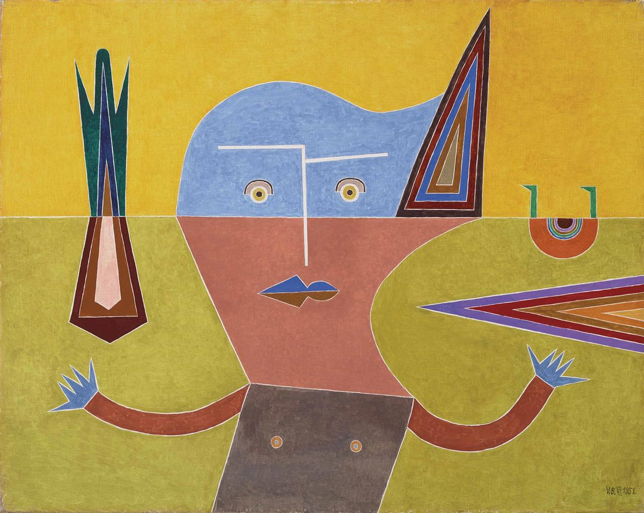 Victor Brauner-Loi Du Reflet-1958